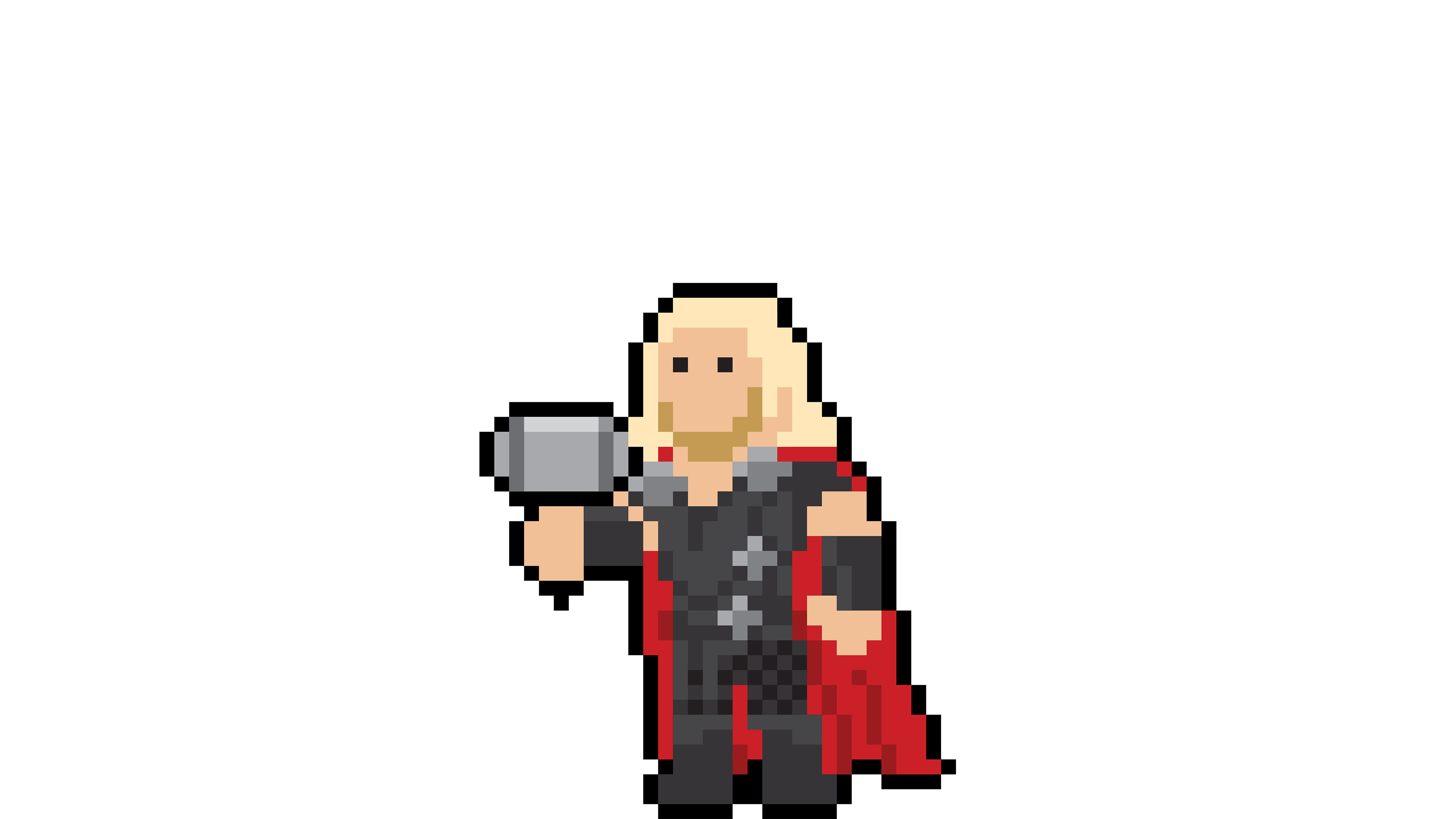 thor pixel art 1536522420 - Thor Pixel Art - thor wallpapers, superheroes wallpapers, pixel wallpapers, hd-wallpapers, digital art wallpapers, behance wallpapers, artwork wallpapers, artist wallpapers, art wallpapers, 4k-wallpapers