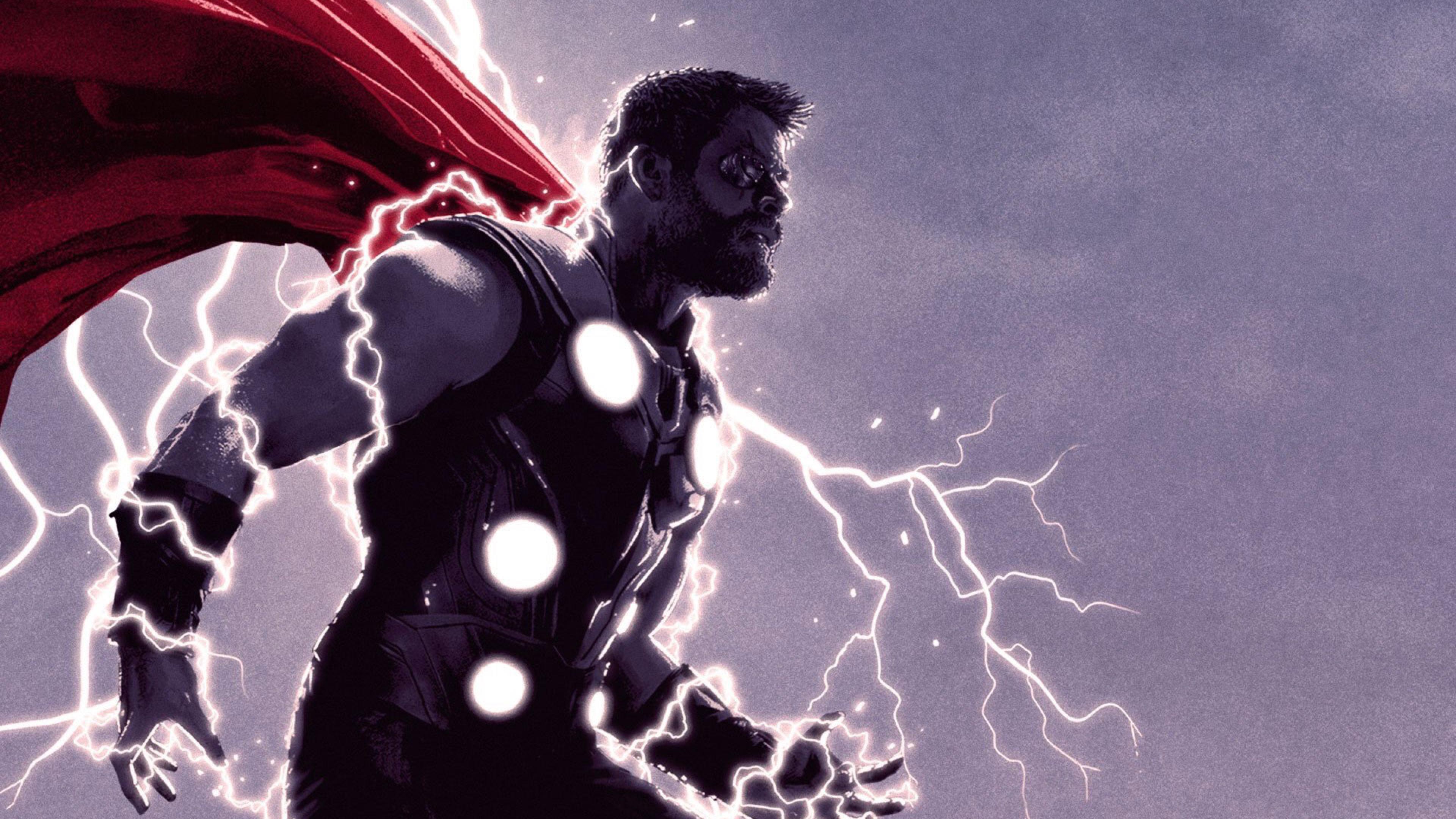 thor thunder lighting 1536523918 - Thor Thunder Lighting - thor wallpapers, superheroes wallpapers, hd-wallpapers, digital art wallpapers, artwork wallpapers, 4k-wallpapers