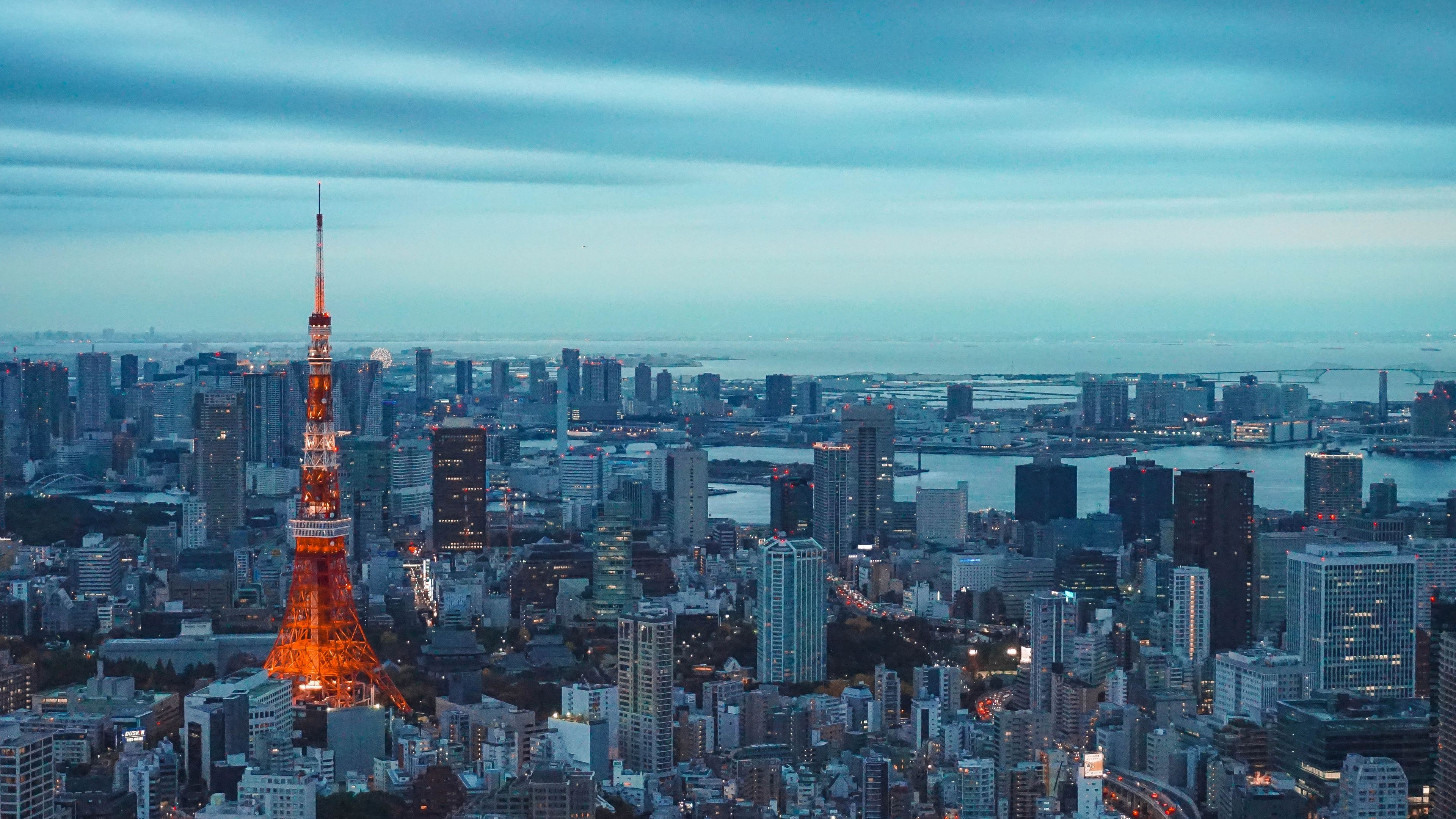 tokyo tower 1538072059 - Tokyo Tower - world wallpapers, tower wallpapers, tokyo wallpapers, tokyo tower wallpapers, skycrapper wallpapers, photography wallpapers, hd-wallpapers, buildings wallpapers, 5k wallpapers, 4k-wallpapers