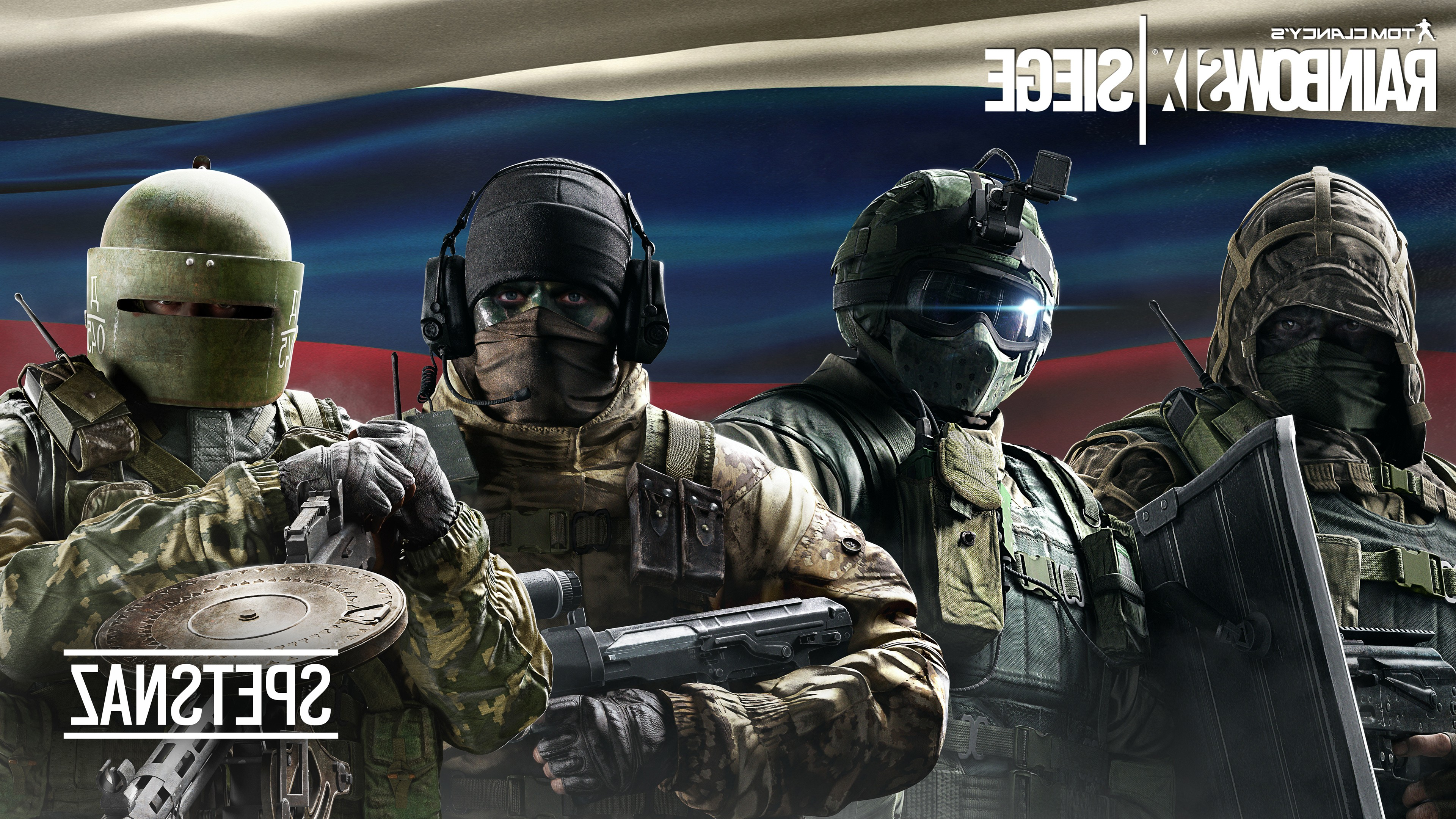 Wallpaper 4k Tom Clancys Rainbow Six Siege Spetsnaz Games Wallpapers