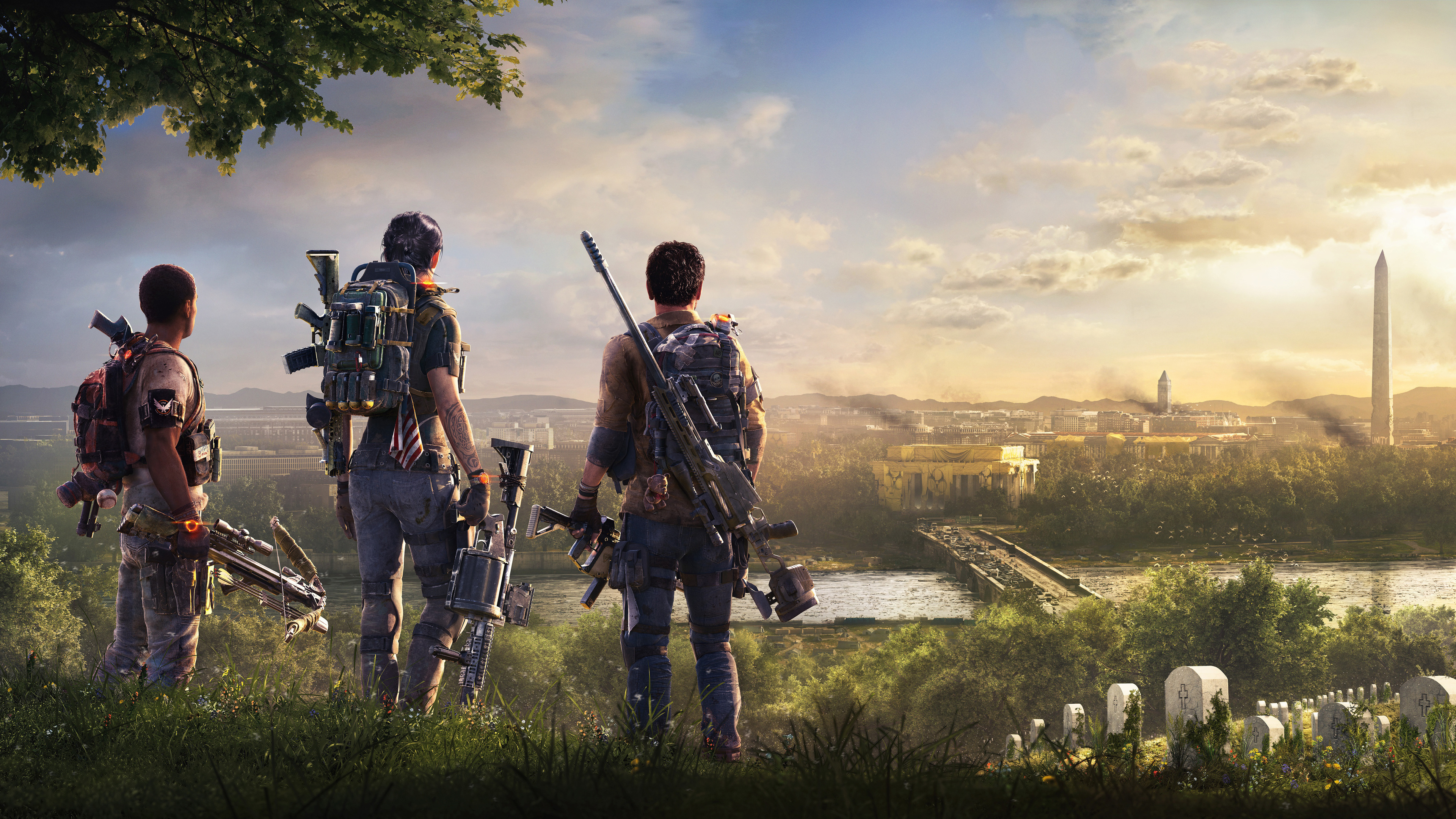 Wallpaper 4k Tom Clancys The Division 2 5k 2018 Games Wallpapers