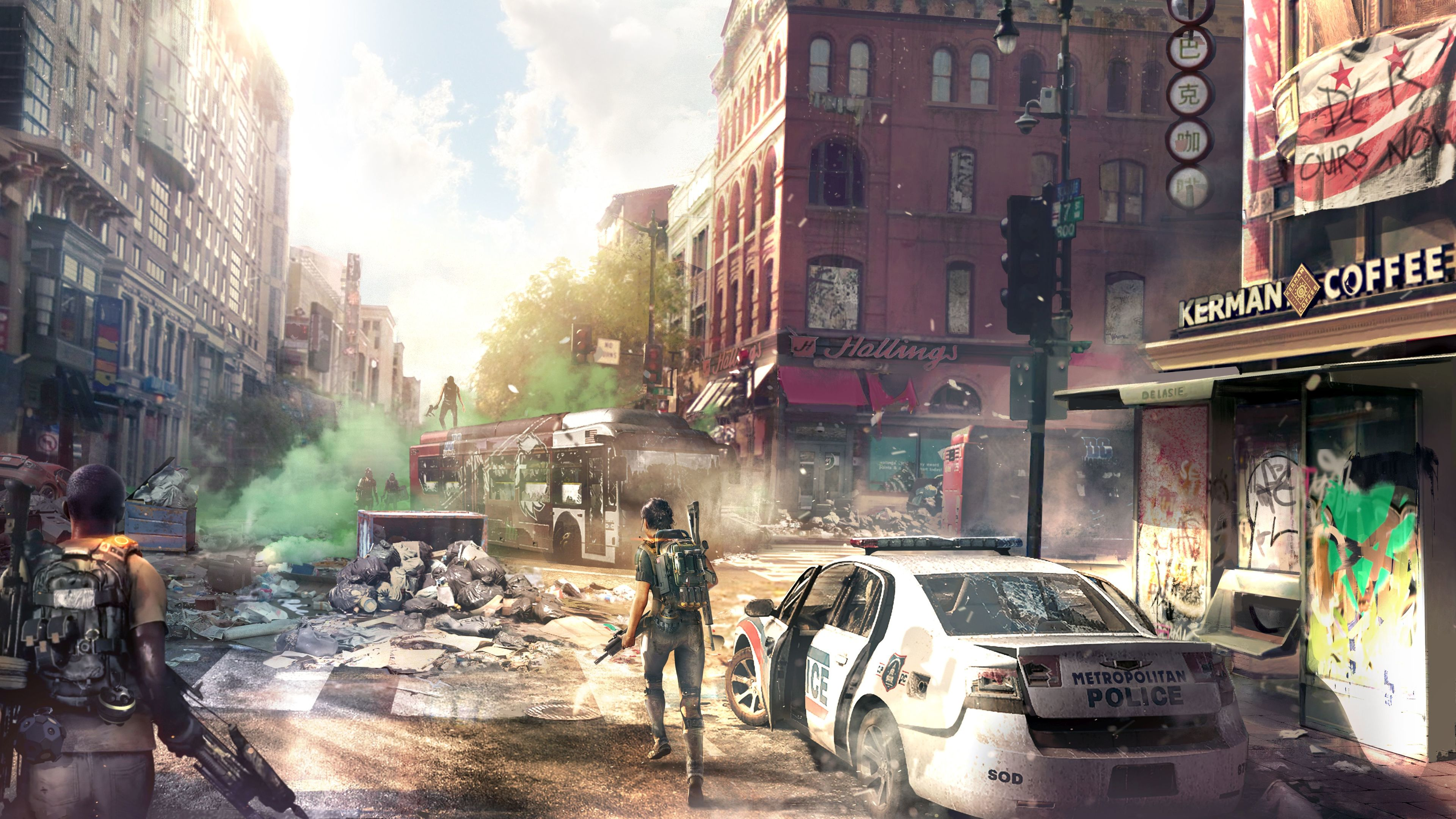 Tom Clancys The Division 2 Concept Art Downtown 8k Tom
