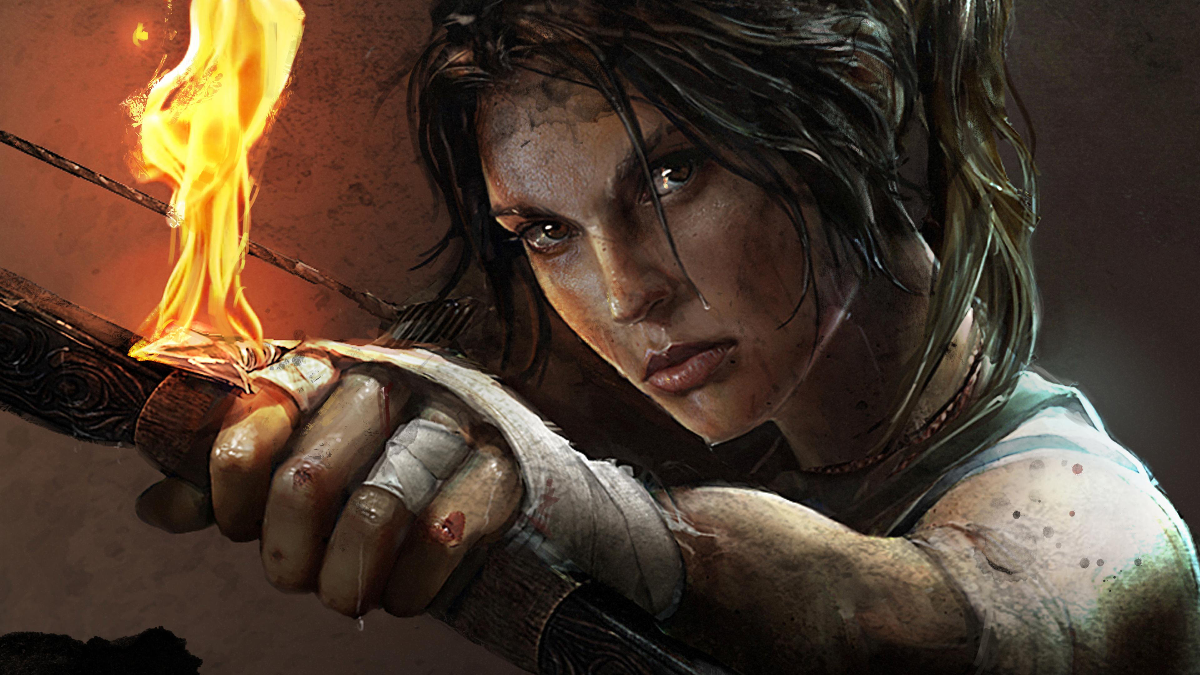 tomb raider lara croft artwork 4k 1537691700 - Tomb Raider Lara Croft Artwork 4k - xbox games wallpapers, tomb raider wallpapers, ps games wallpapers, pc games wallpapers, hd-wallpapers, games wallpapers, 4k-wallpapers