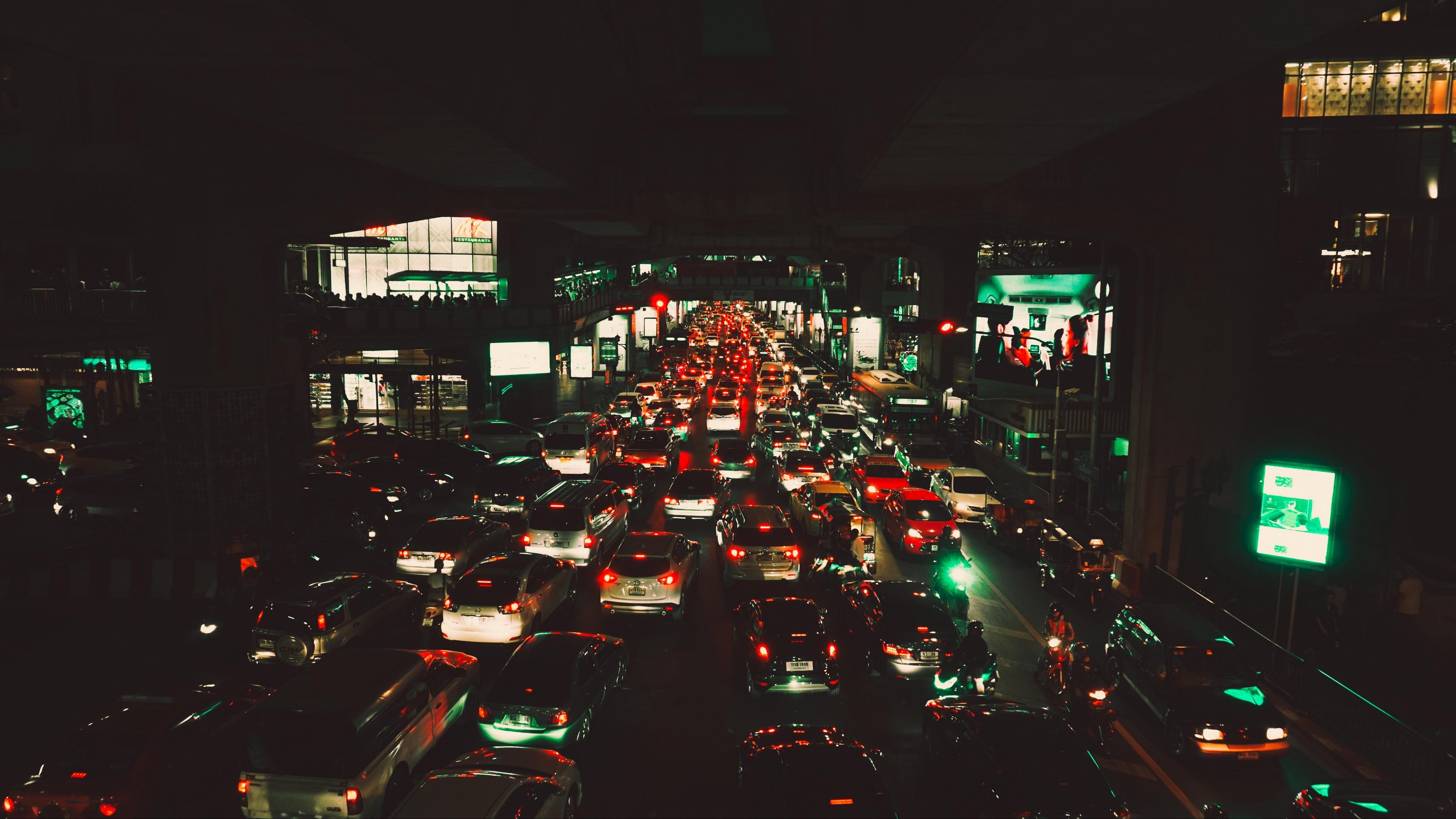 traffic bangkok siam metropolis 4k 1538066474 - traffic, bangkok, siam, metropolis 4k - Traffic, siam, bangkok