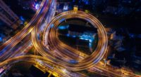 traffic junction night city view from above 4k 1538067382 200x110 - traffic junction, night city, view from above 4k - view from above, traffic junction, night city