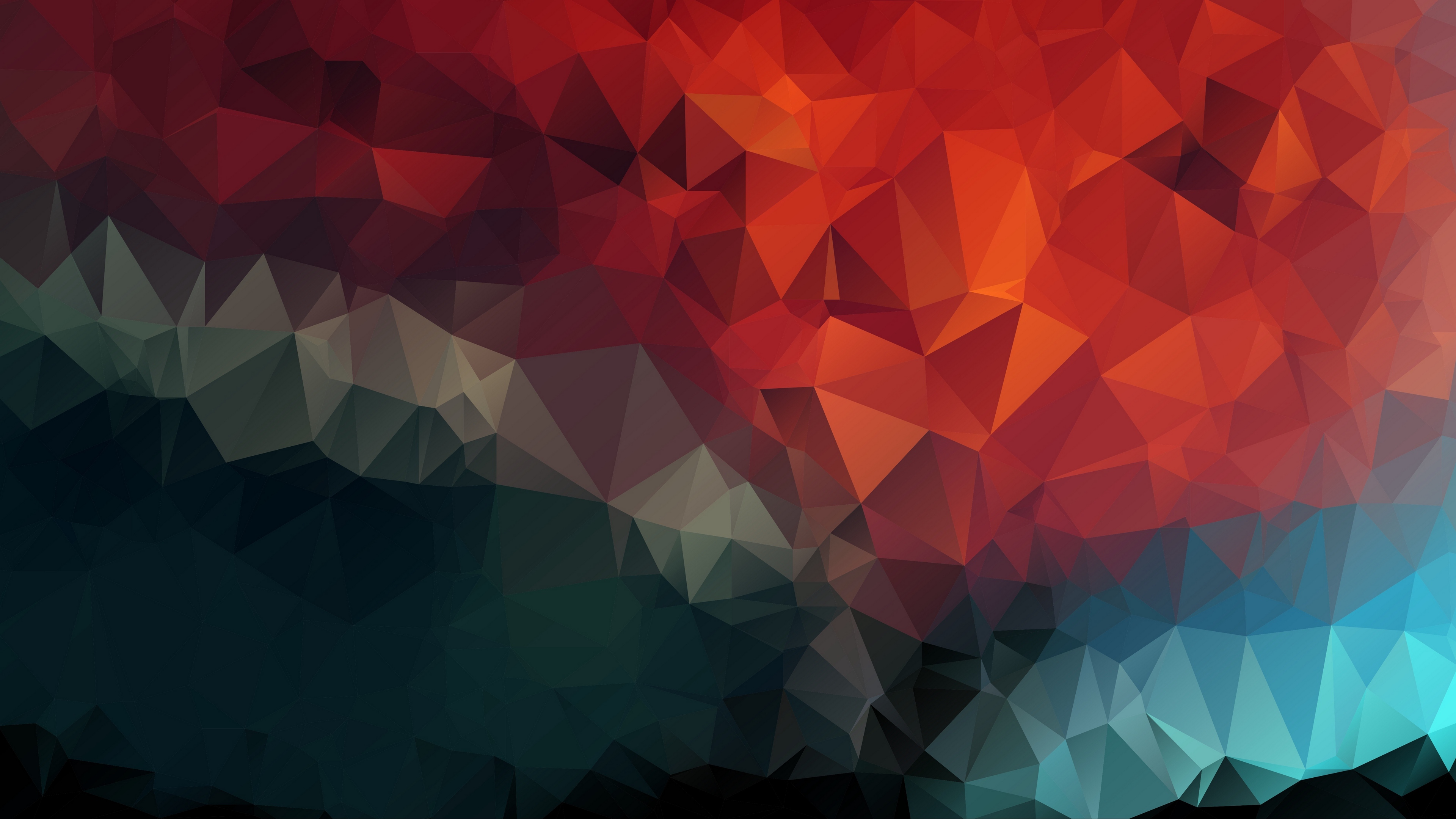 triangles geometric mosaic 4k 1536097737 - triangles, geometric, mosaic 4k - Triangles, Mosaic, Geometric