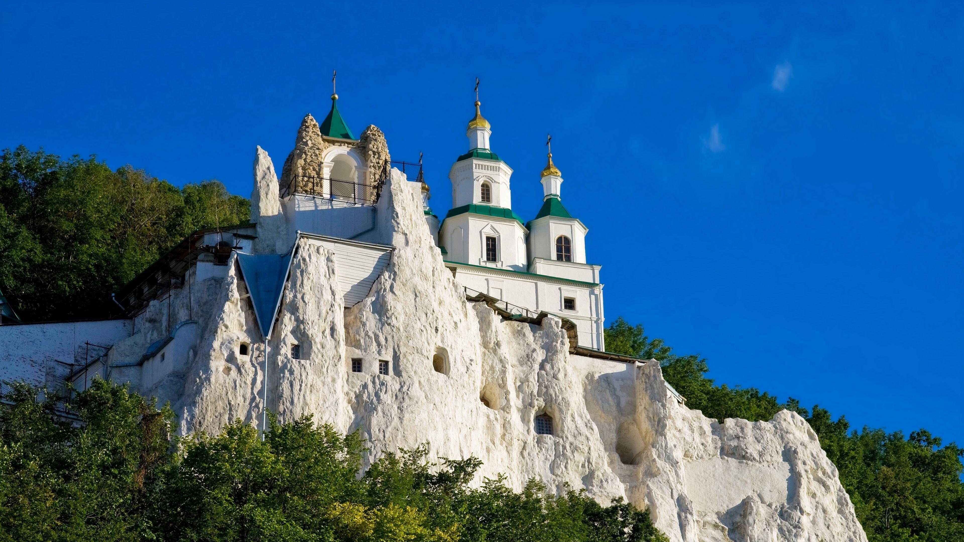 ukraine svyatogorskaya laurel cities 4k 1538067632 - ukraine, svyatogorskaya laurel, cities 4k - Ukraine, svyatogorskaya laurel, cities
