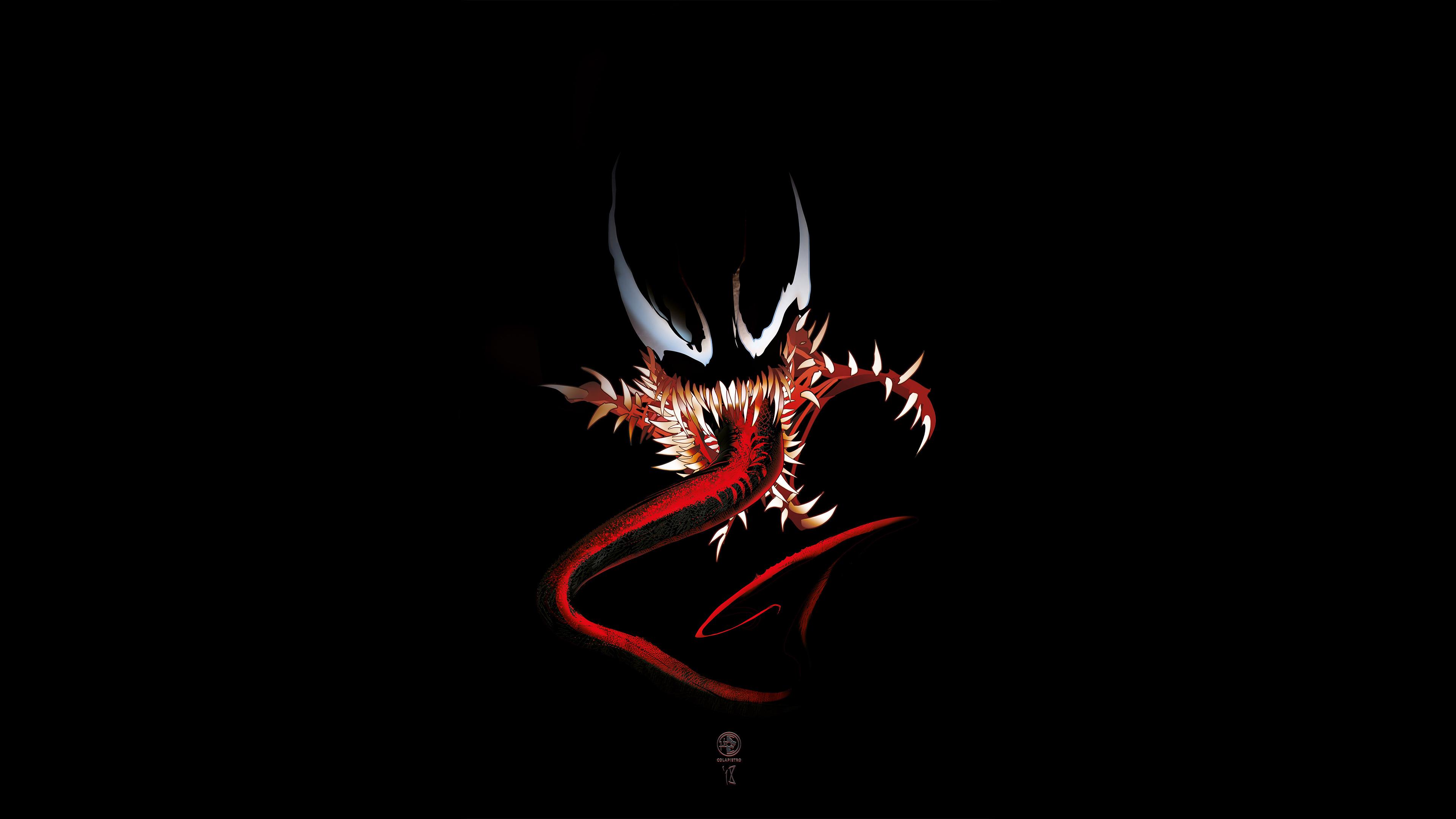 venom 4k digital art 1537646060 - Venom 4k Digital Art - Venom wallpapers, supervillain wallpapers, superheroes wallpapers, digital art wallpapers, artstation wallpapers, artist wallpapers, 4k-wallpapers