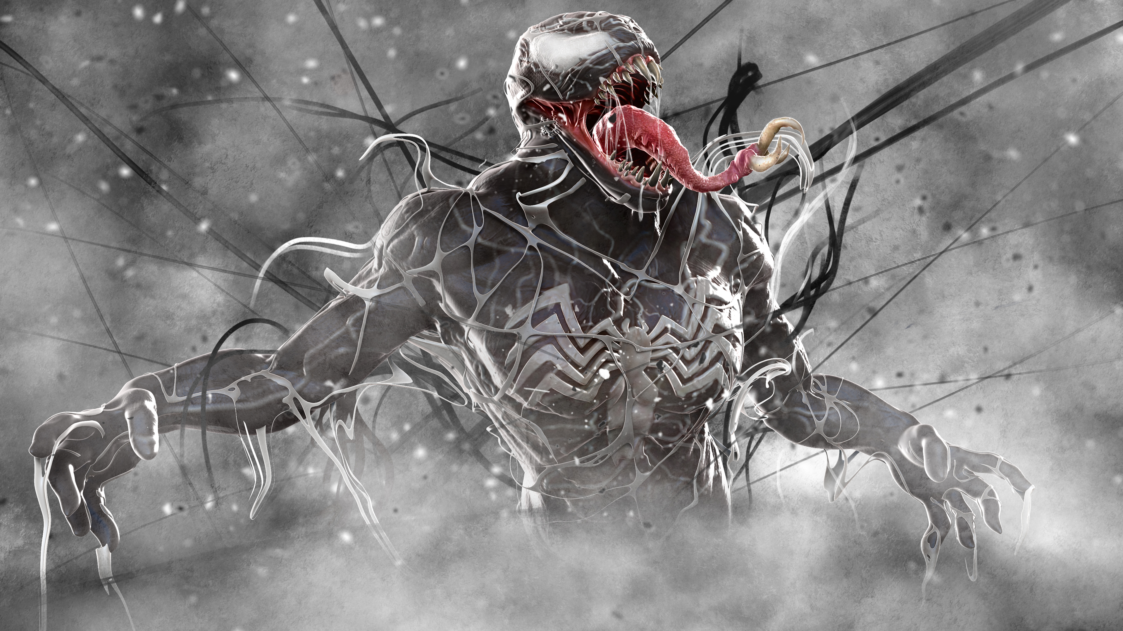 venom artwork 2018 1536523891 - Venom Artwork 2018 - Venom wallpapers, supervillain wallpapers, superheroes wallpapers, hd-wallpapers, deviantart wallpapers, artwork wallpapers, artist wallpapers