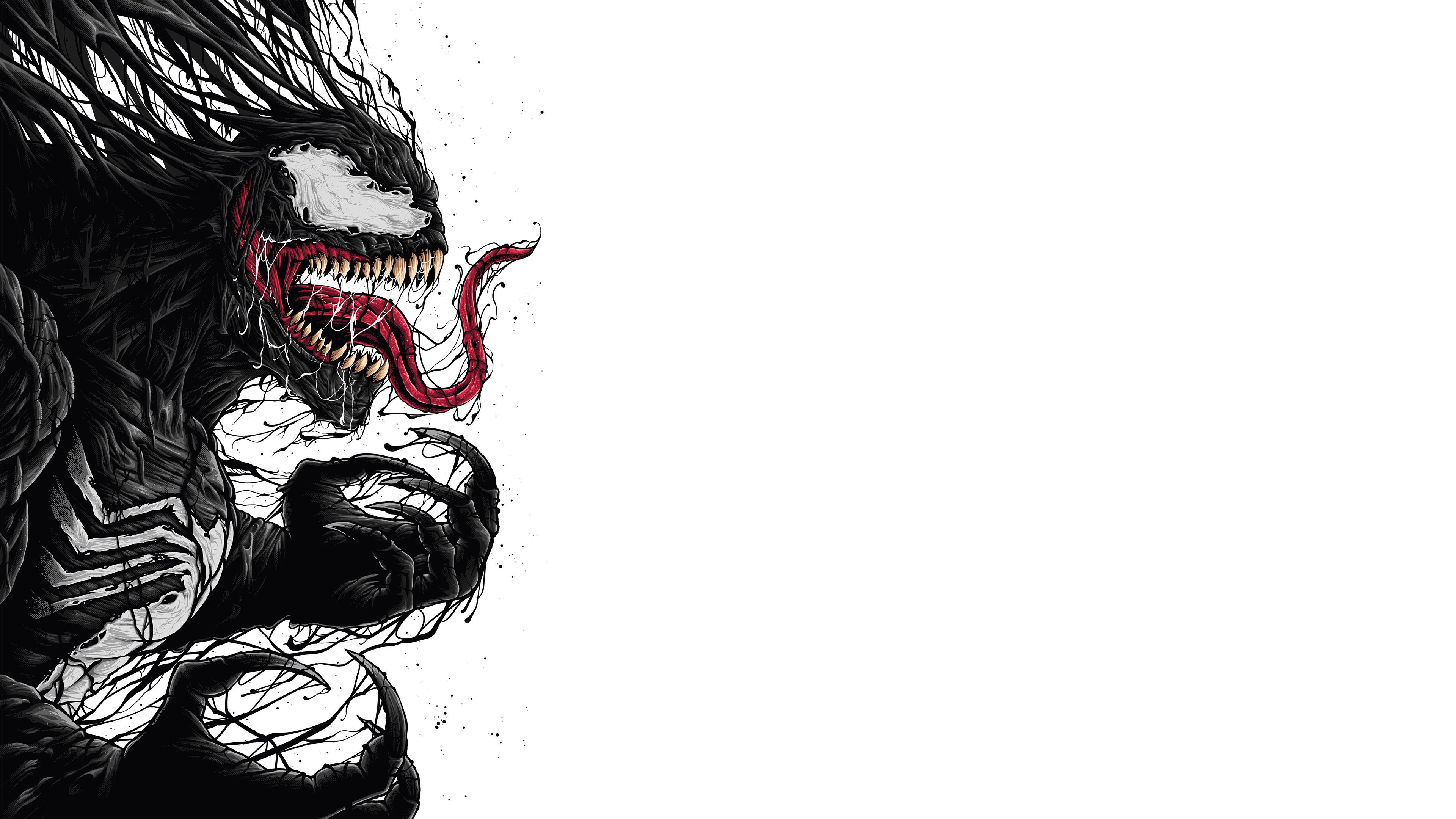 venom digital fan art 4k 1536524090 - Venom Digital Fan Art 4k - Venom wallpapers, supervillain wallpapers, superheroes wallpapers, hd-wallpapers, digital art wallpapers, behance wallpapers, artwork wallpapers, artist wallpapers, 4k-wallpapers