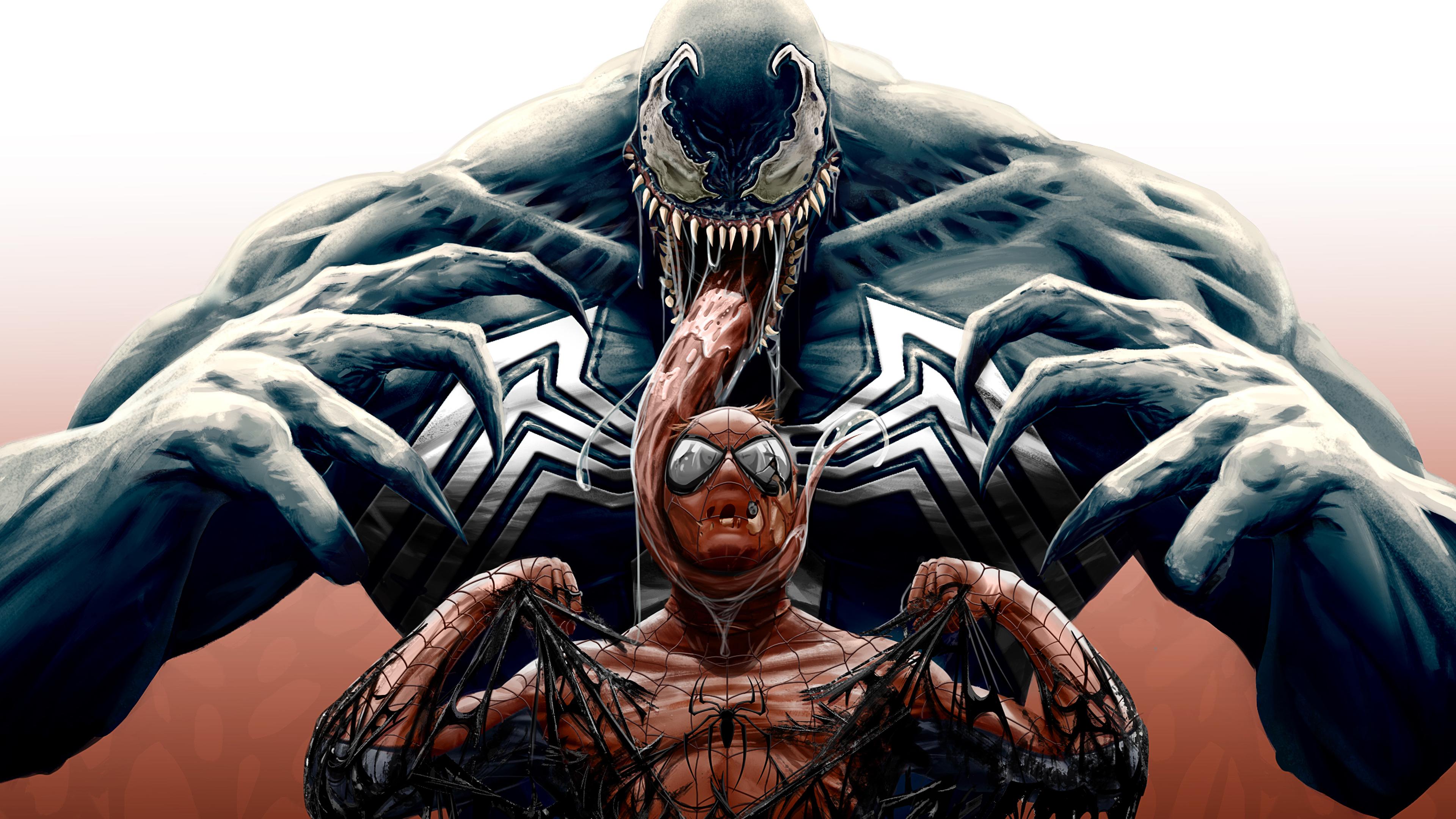 venom spiderman cool artwork 4k 1536523558 - Venom Spiderman Cool Artwork 4k - Venom wallpapers, superheroes wallpapers, spiderman wallpapers, hd-wallpapers, digital art wallpapers, artwork wallpapers, artist wallpapers, 4k-wallpapers