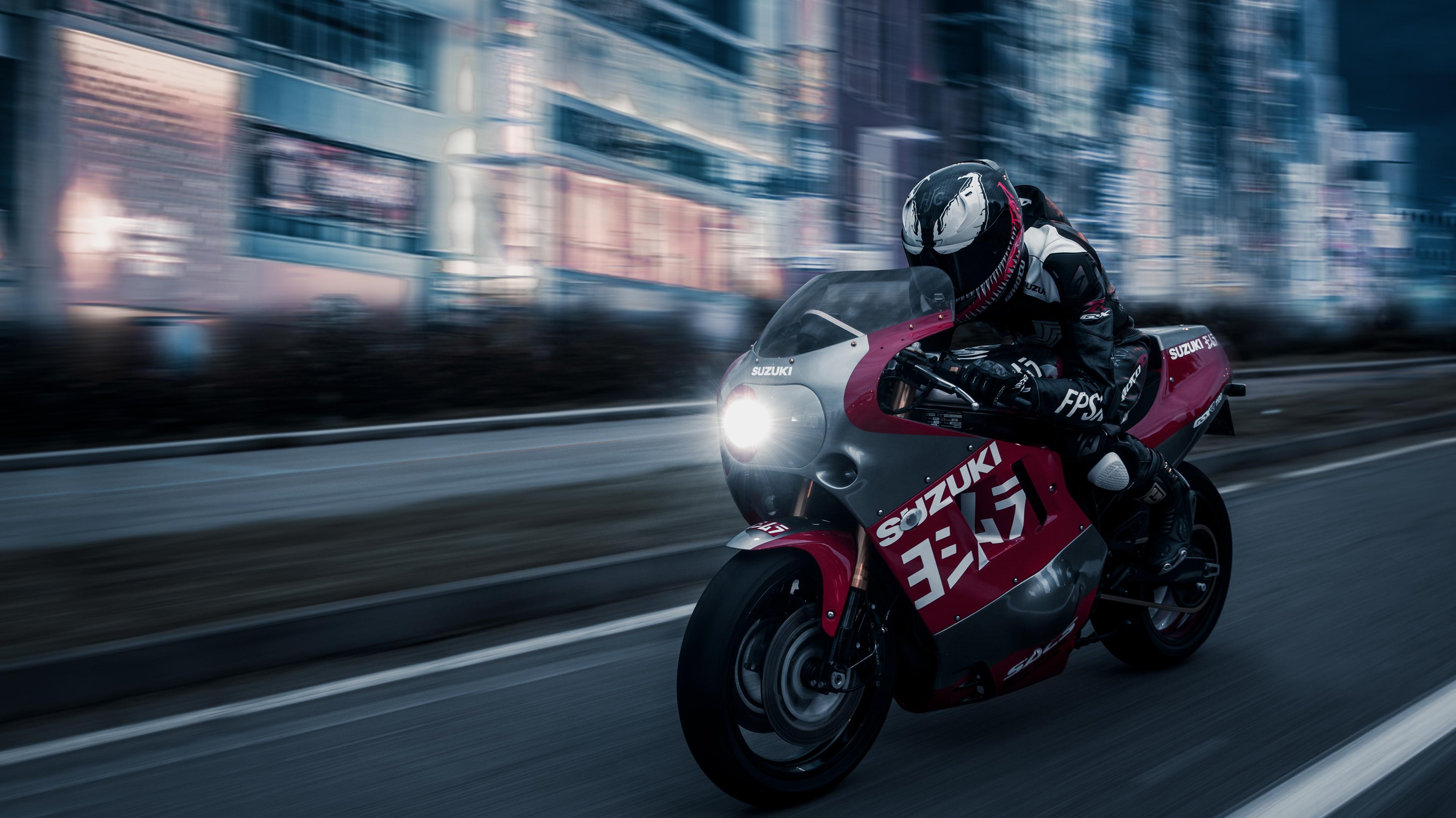 venom suzuki gsx r 1100 1536316571 - Venom Suzuki GSX R 1100 - Venom wallpapers, suzuki wallpapers, hd-wallpapers, bikes wallpapers, behance wallpapers, artist wallpapers, 4k-wallpapers