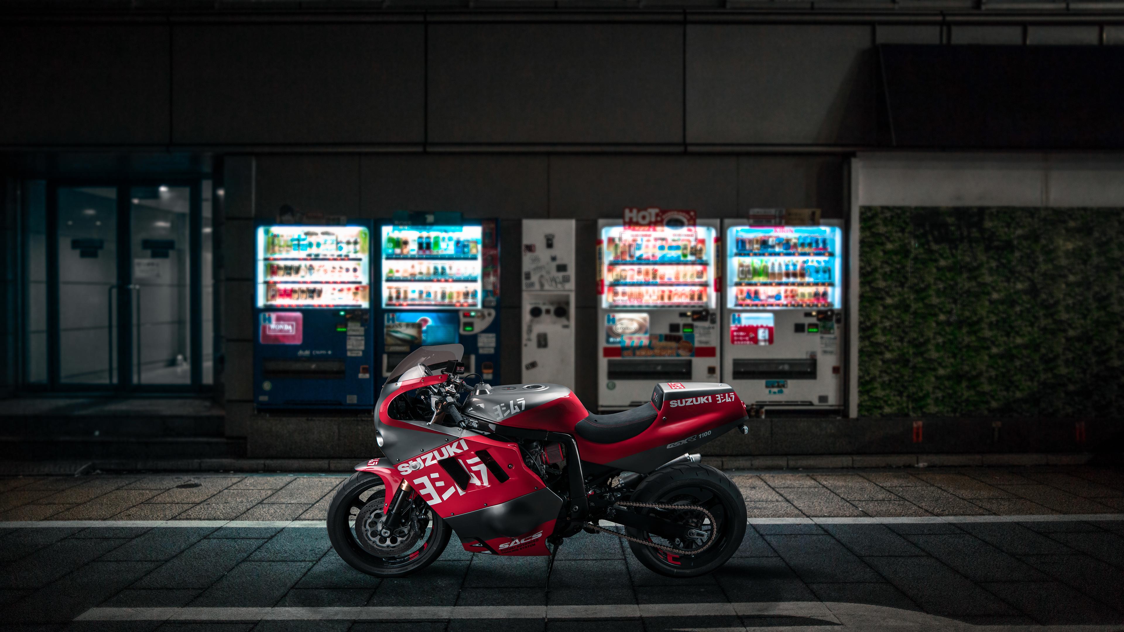 venom suzuki gsxr 1100 1536316569 - Venom Suzuki GSXR 1100 - Venom wallpapers, suzuki wallpapers, hd-wallpapers, bikes wallpapers, behance wallpapers, artist wallpapers, 4k-wallpapers