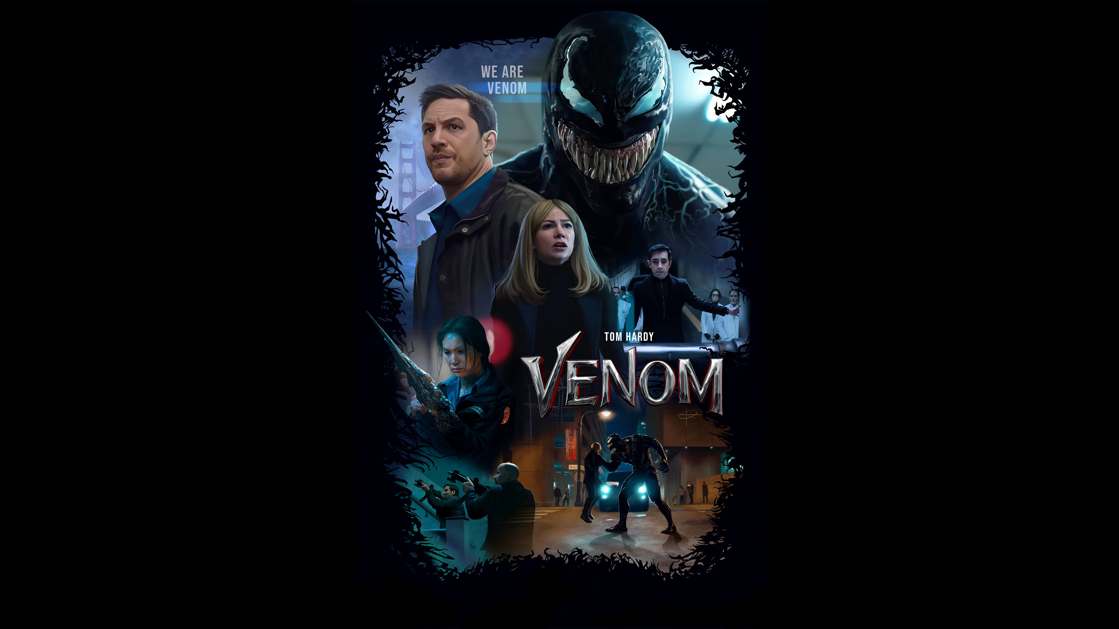 2048x2048 Venom 2018 Movie 4k Ipad Air Hd 4k Wallpapers: Venom The Movie 4k Venom Wallpapers, Venom Movie