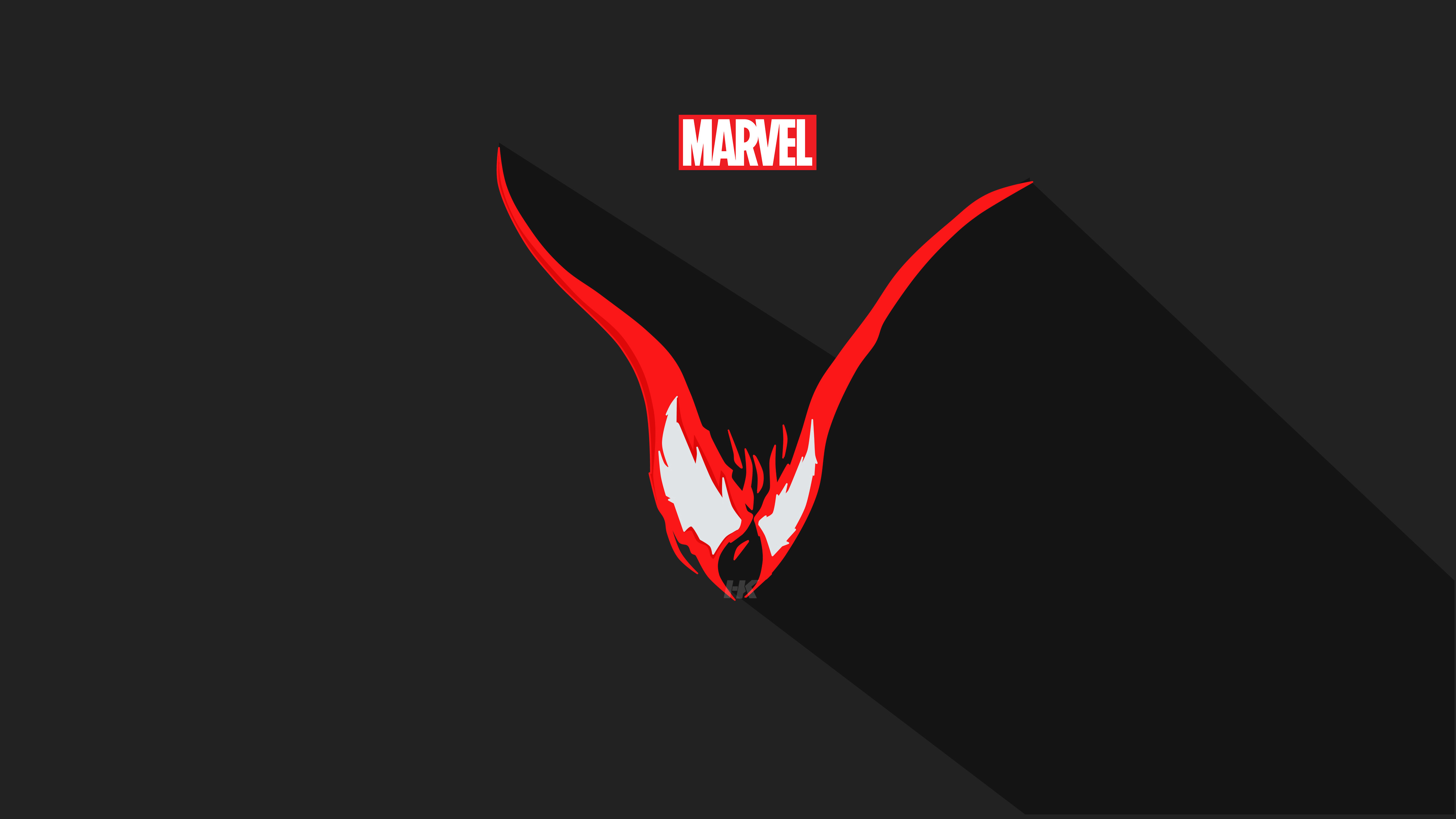 venom vector minimalism 5k 1536524065 - Venom Vector Minimalism 5k - Venom wallpapers, vector wallpapers, superheroes wallpapers, minimalism wallpapers, hd-wallpapers, artstation wallpapers, 5k wallpapers, 4k-wallpapers