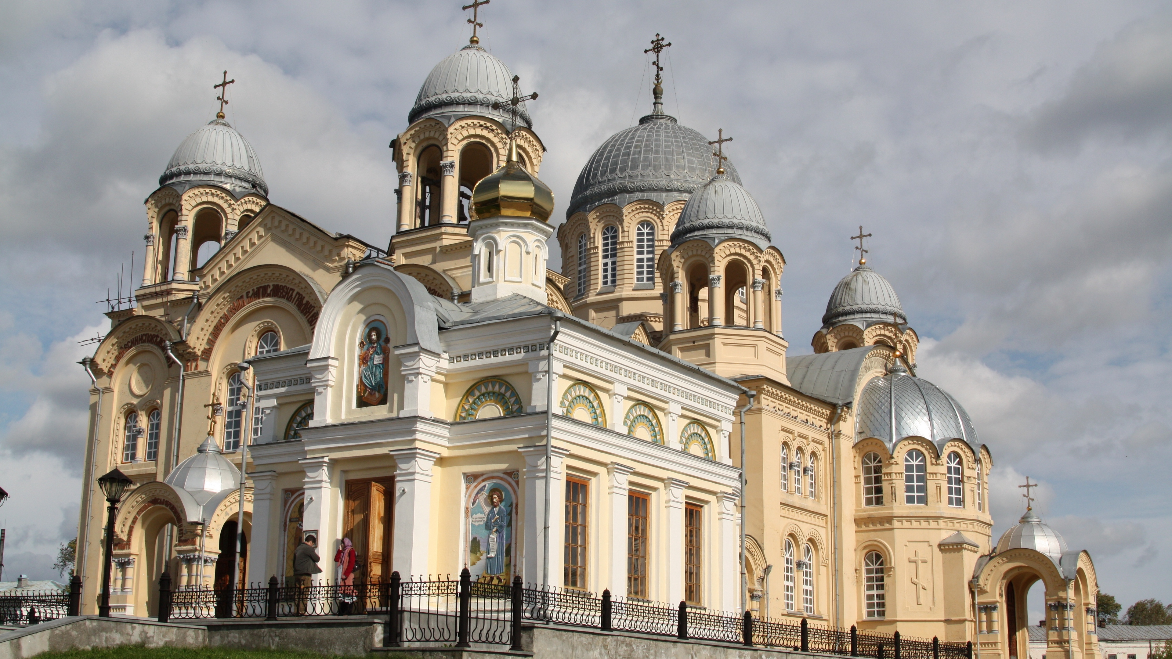 verkhoturye cross cathedral church st nicholas architecture dome paintings carvings 4k 1538067547 - verkhoturye, cross, cathedral, church, st nicholas, architecture, dome, paintings, carvings 4k - verkhoturye, Cross, Cathedral