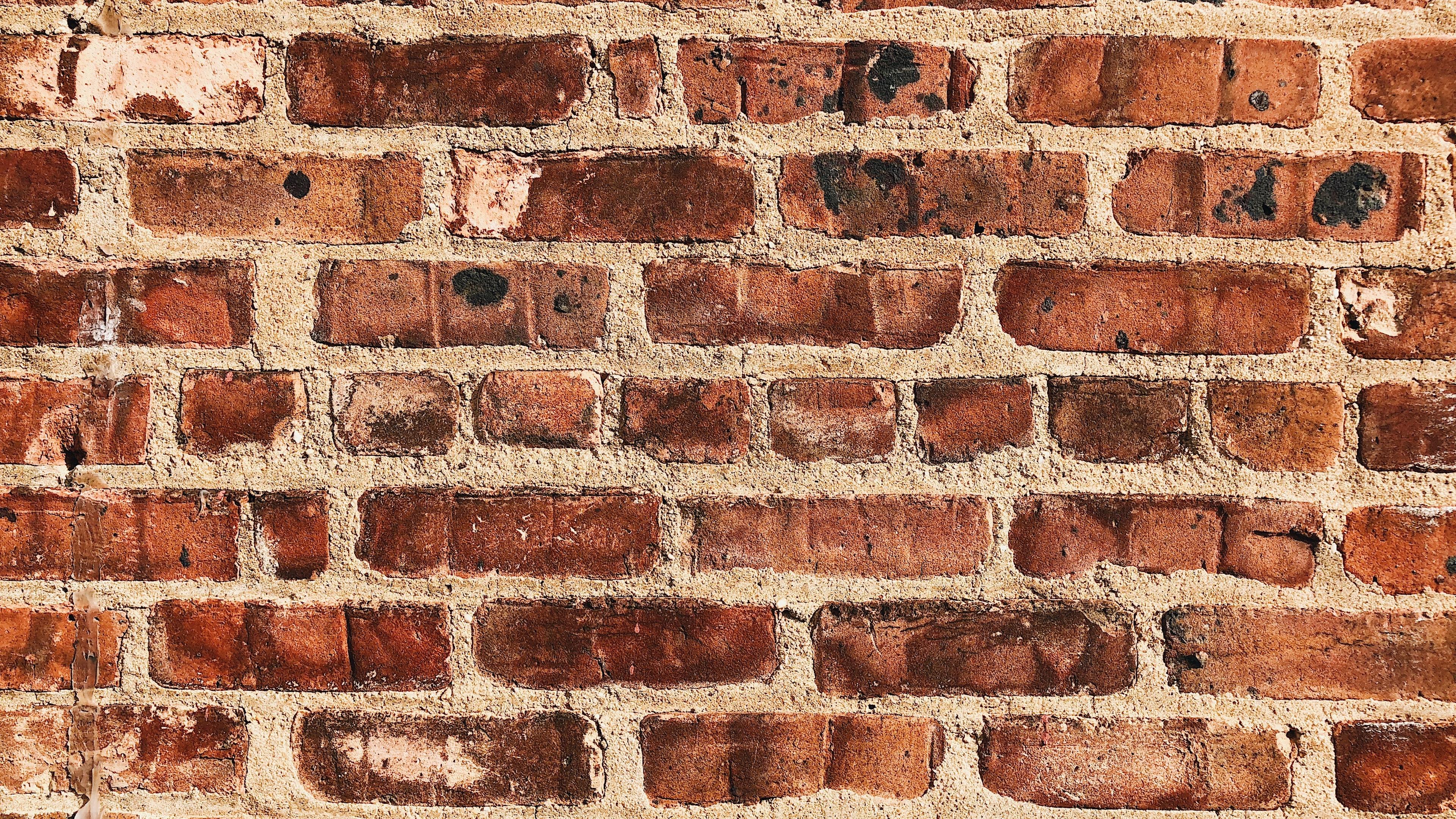 wall brick surface texture 4k 1536097876 - wall, brick, surface, texture 4k - WALL, Surface, brick