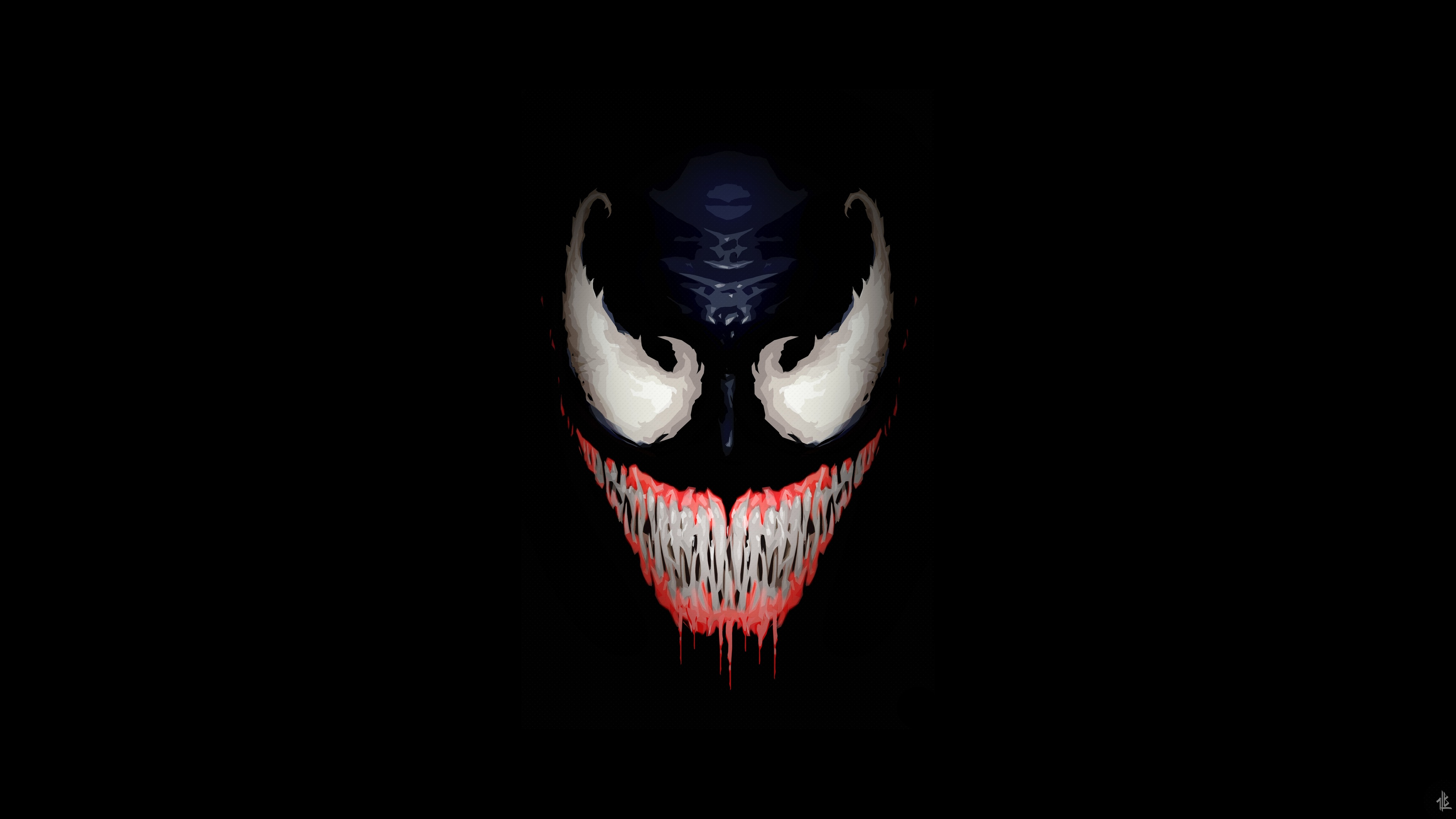 we are venom minimalism 5k 1536523739 - We Are Venom Minimalism 5k - Venom wallpapers, venom movie wallpapers, supervillain wallpapers, hd-wallpapers, digital art wallpapers, artwork wallpapers, artstation wallpapers, art wallpapers, 5k wallpapers, 4k-wallpapers
