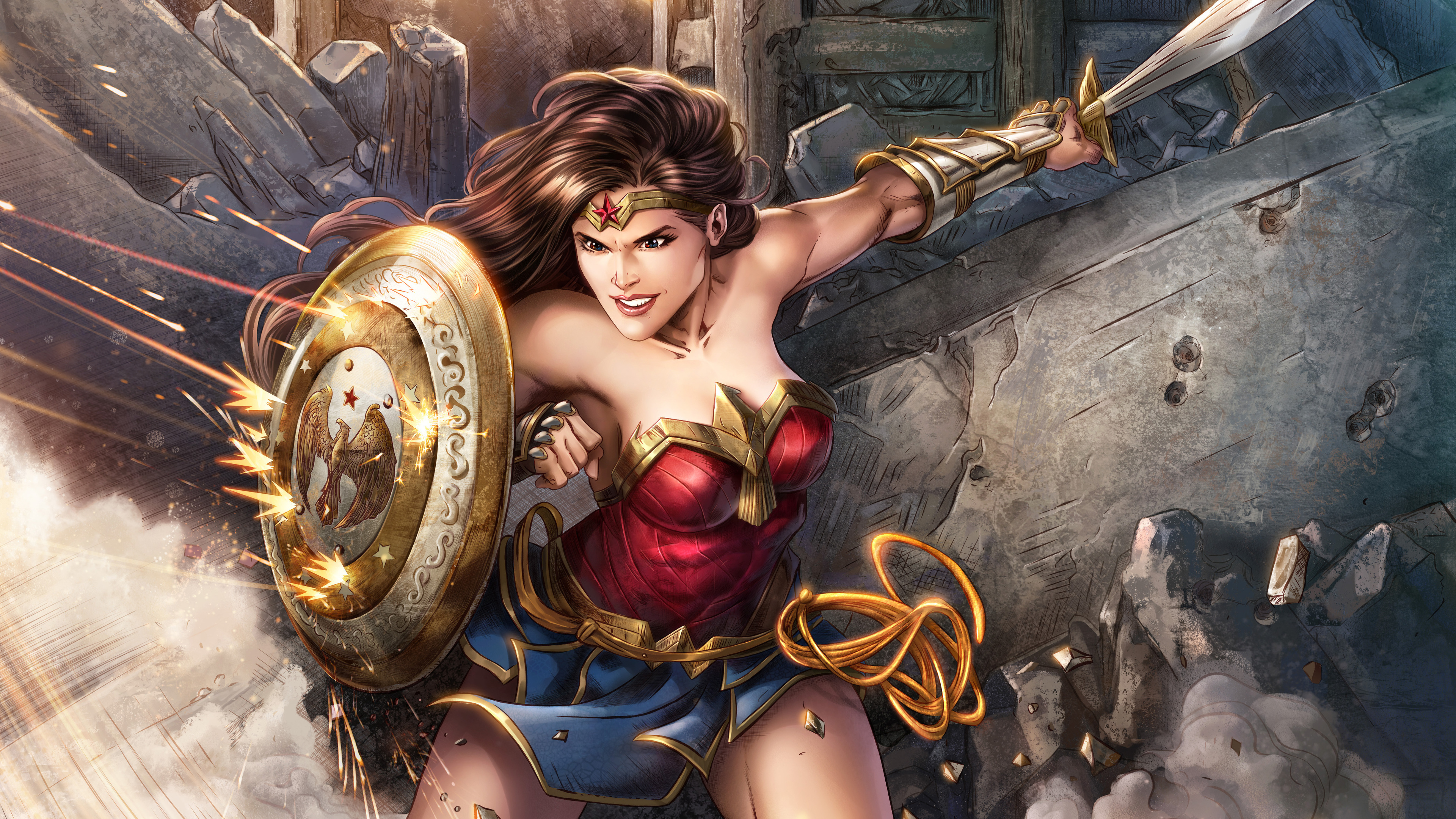 wonder woman 5k digital artwork 1537646017 - Wonder Woman 5k Digital Artwork - wonder woman wallpapers, superheroes wallpapers, hd-wallpapers, digital art wallpapers, artwork wallpapers, 5k wallpapers, 4k-wallpapers