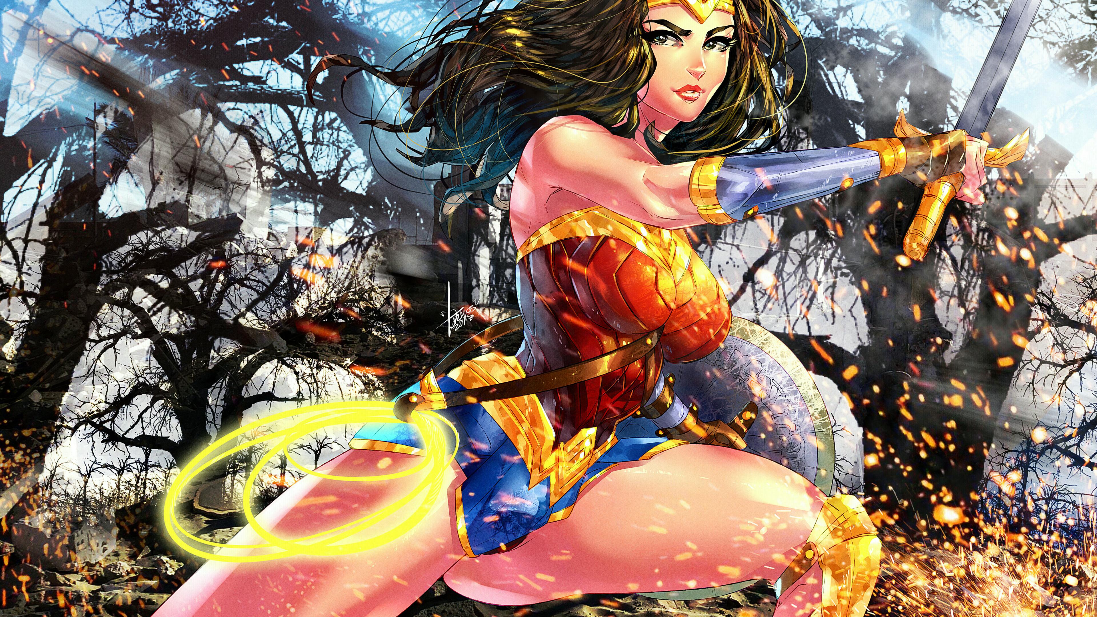 wonder woman colorful artwork 1536522616 - Wonder Woman Colorful Artwork - wonder woman wallpapers, superheroes wallpapers, hd-wallpapers, digital art wallpapers, artwork wallpapers, artist wallpapers, 4k-wallpapers