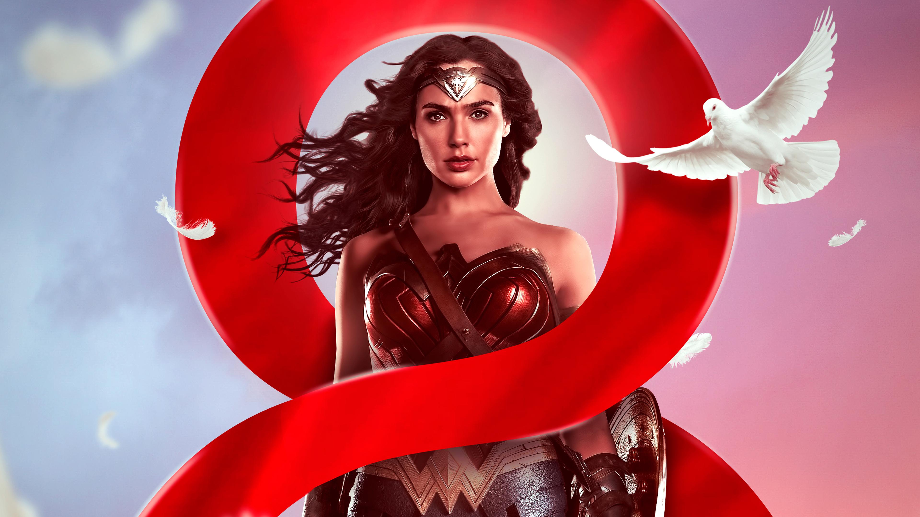 wonder woman poster design 4k 1536524112 - Wonder Woman Poster Design 4k - wonder woman wallpapers, superheroes wallpapers, poster wallpapers, hd-wallpapers, behance wallpapers, 4k-wallpapers