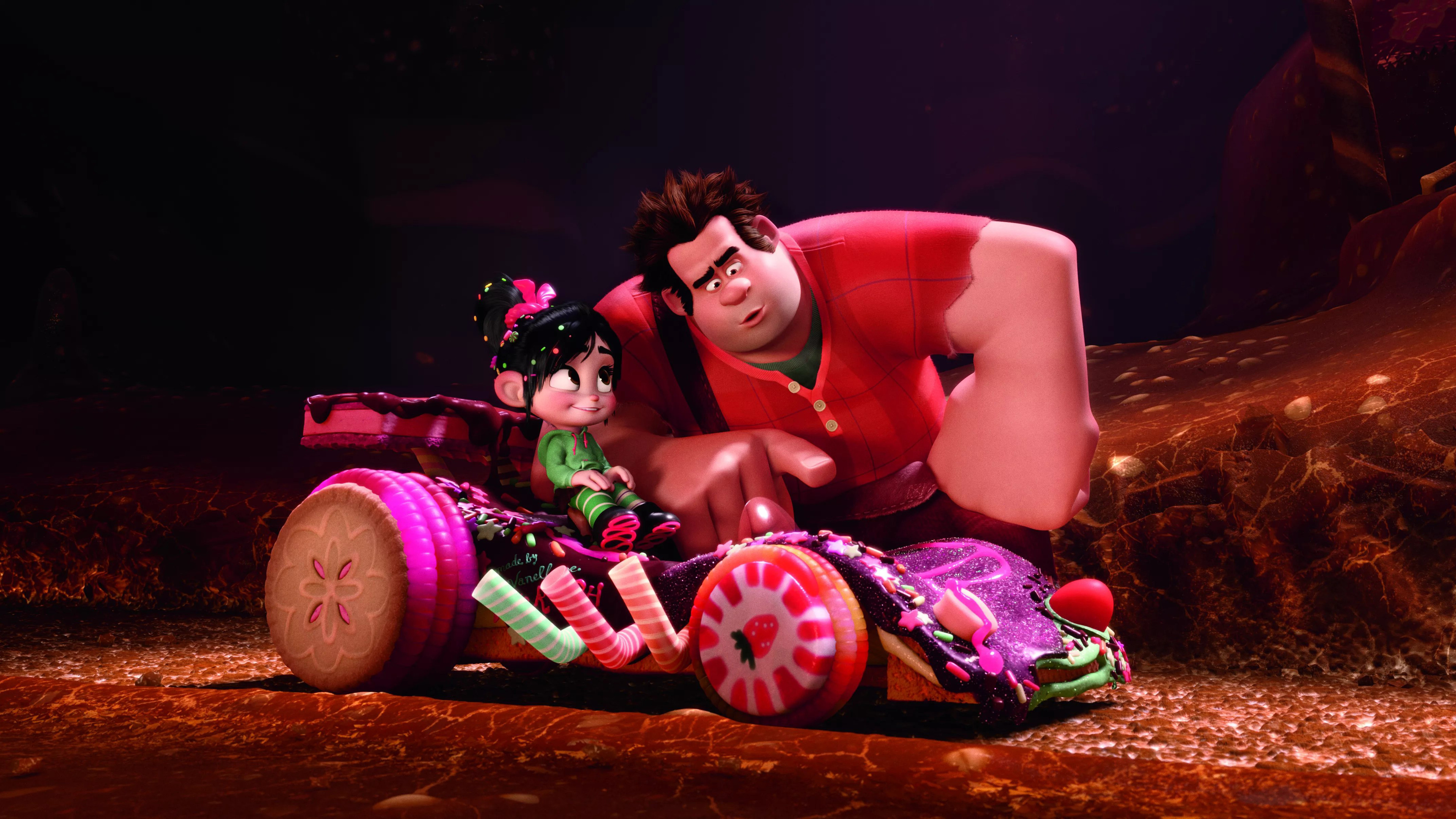 wreck it ralph 4k 1537644186 - Wreck It Ralph 4k - wreck it ralph 2 wallpapers, movies wallpapers, animated movies wallpapers, 4k-wallpapers, 2018-movies-wallpapers