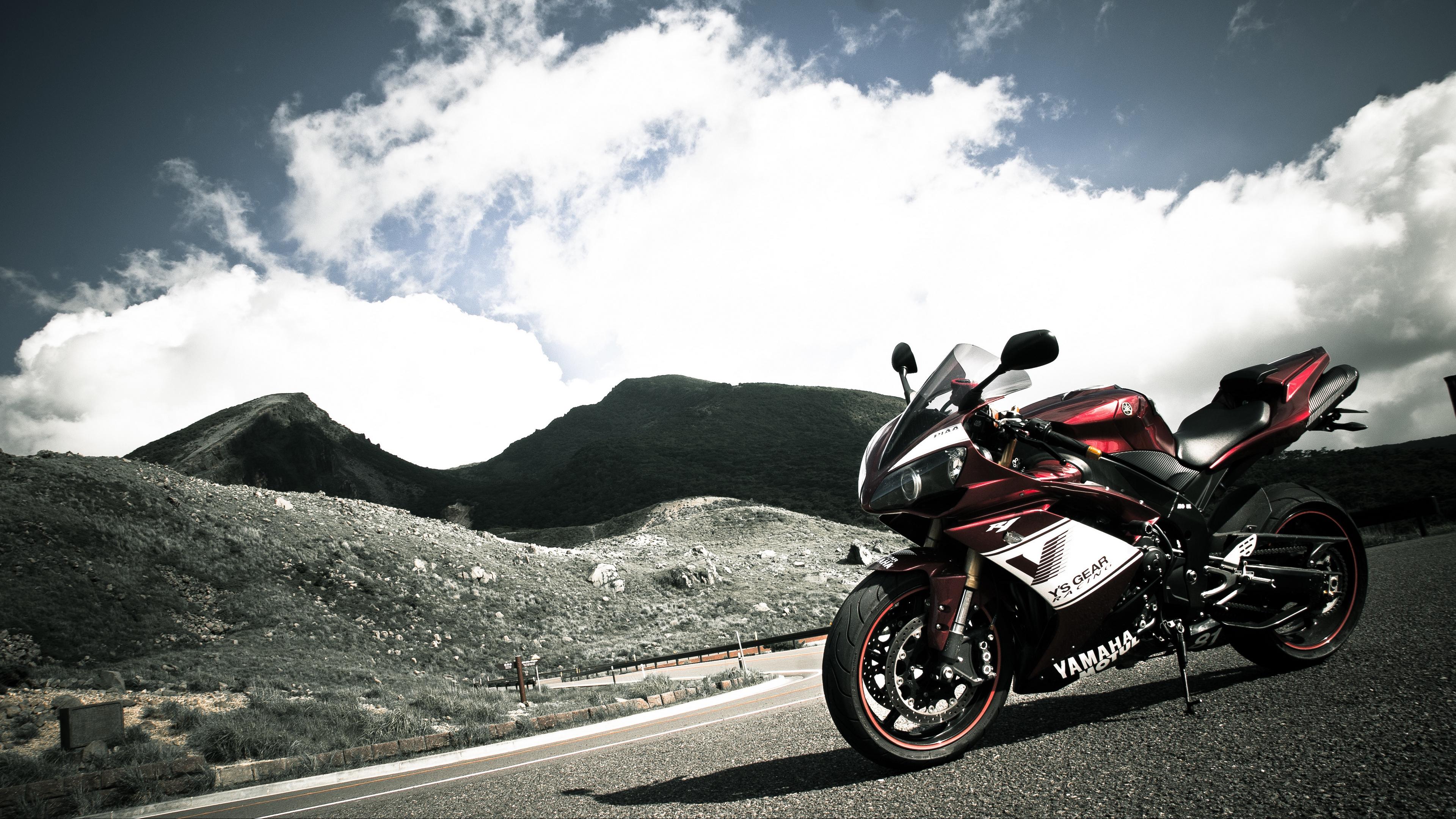 yamaha r1 motorcycle sportbike 4k 1536018796 - yamaha r1, motorcycle, sportbike 4k - yamaha r1, Sportbike, Motorcycle