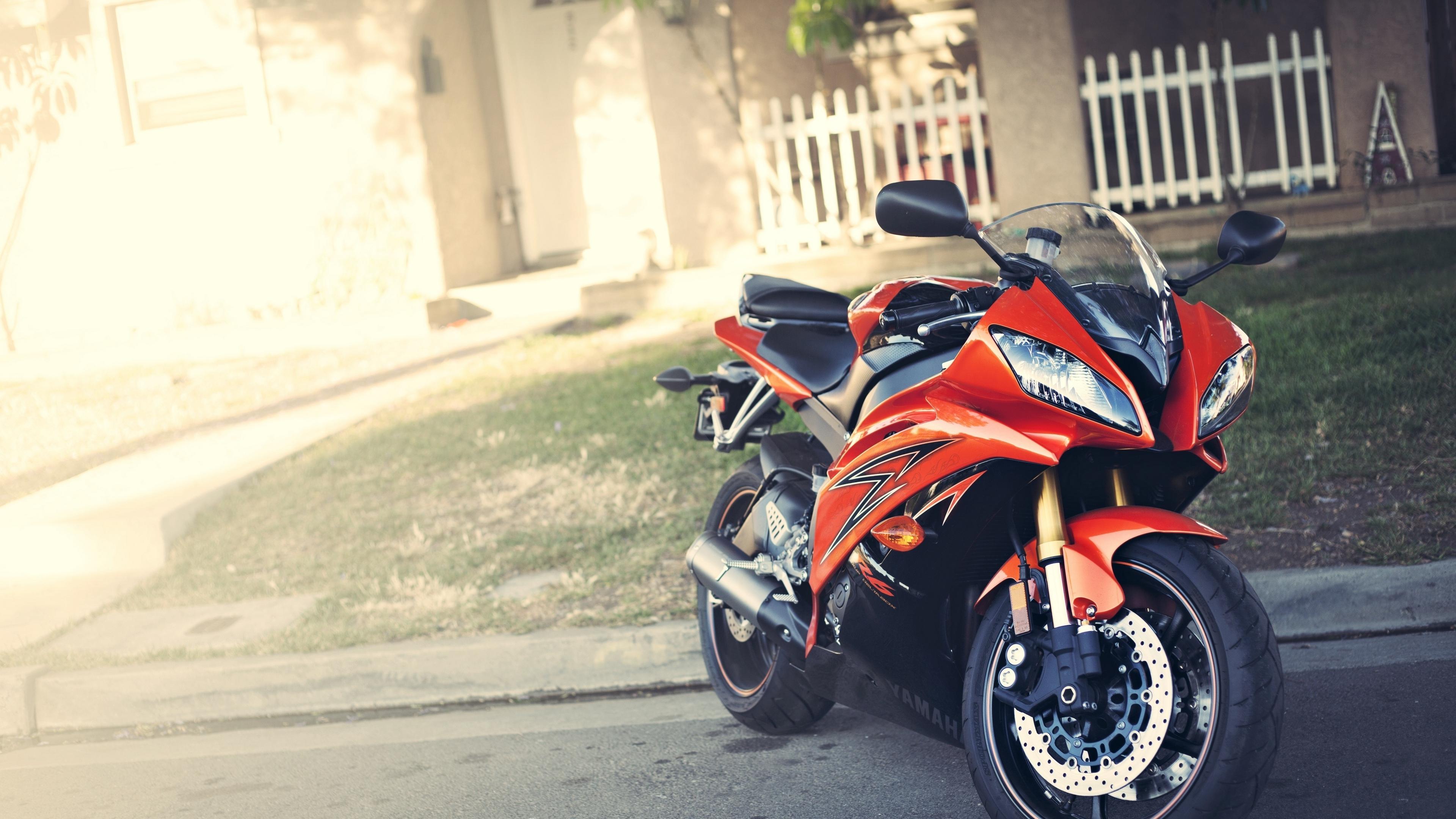 yamaha yzf r6 red motorcycle 4k 1536018898 - yamaha, yzf-r6, red, motorcycle 4k - yzf-r6, Yamaha, red