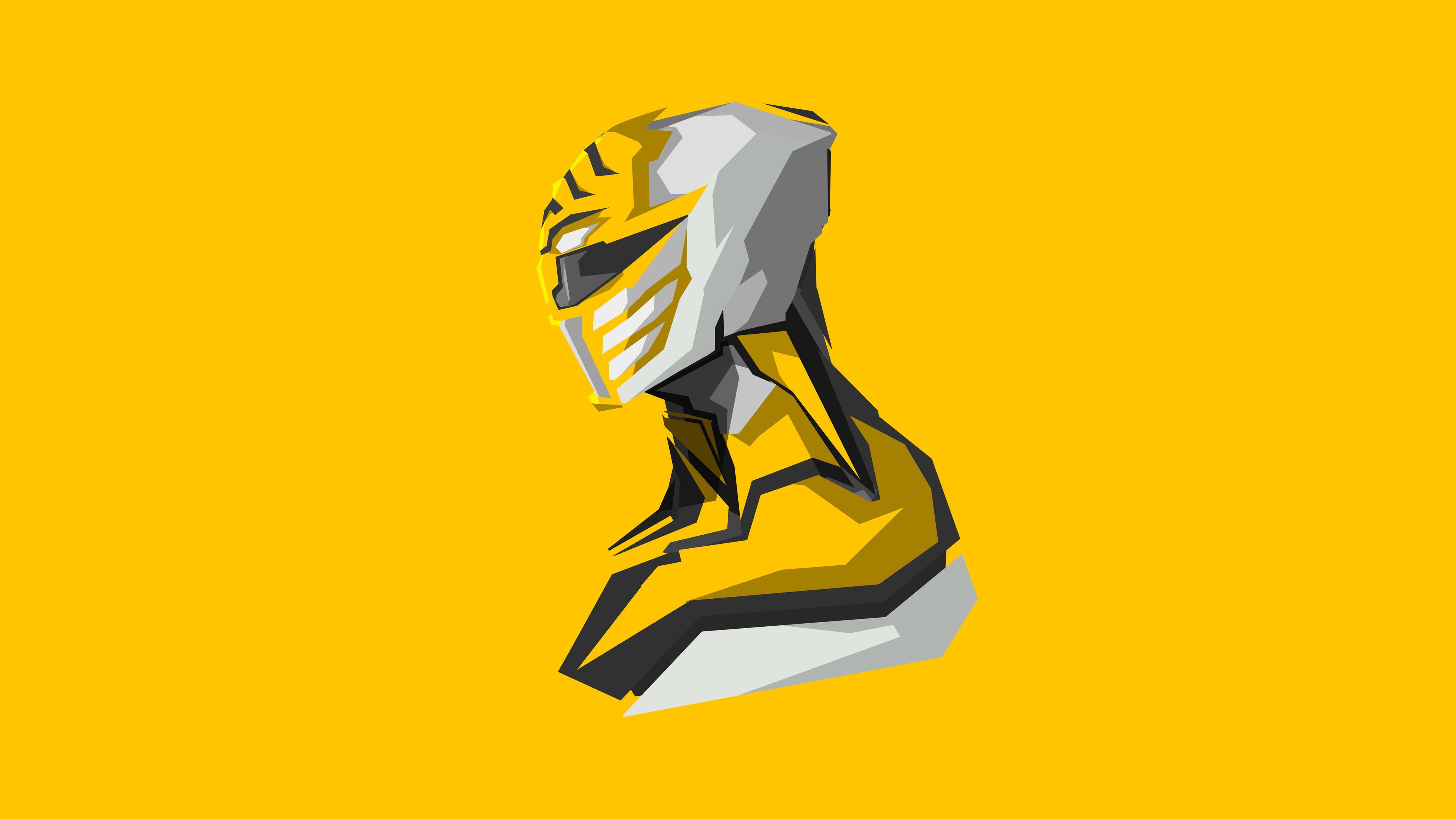 yellow power rangers 4k art 1536522828 - Yellow Power Rangers 4k Art - power rangers wallpapers, minimalism wallpapers, hd-wallpapers, digital art wallpapers, artwork wallpapers, 4k-wallpapers