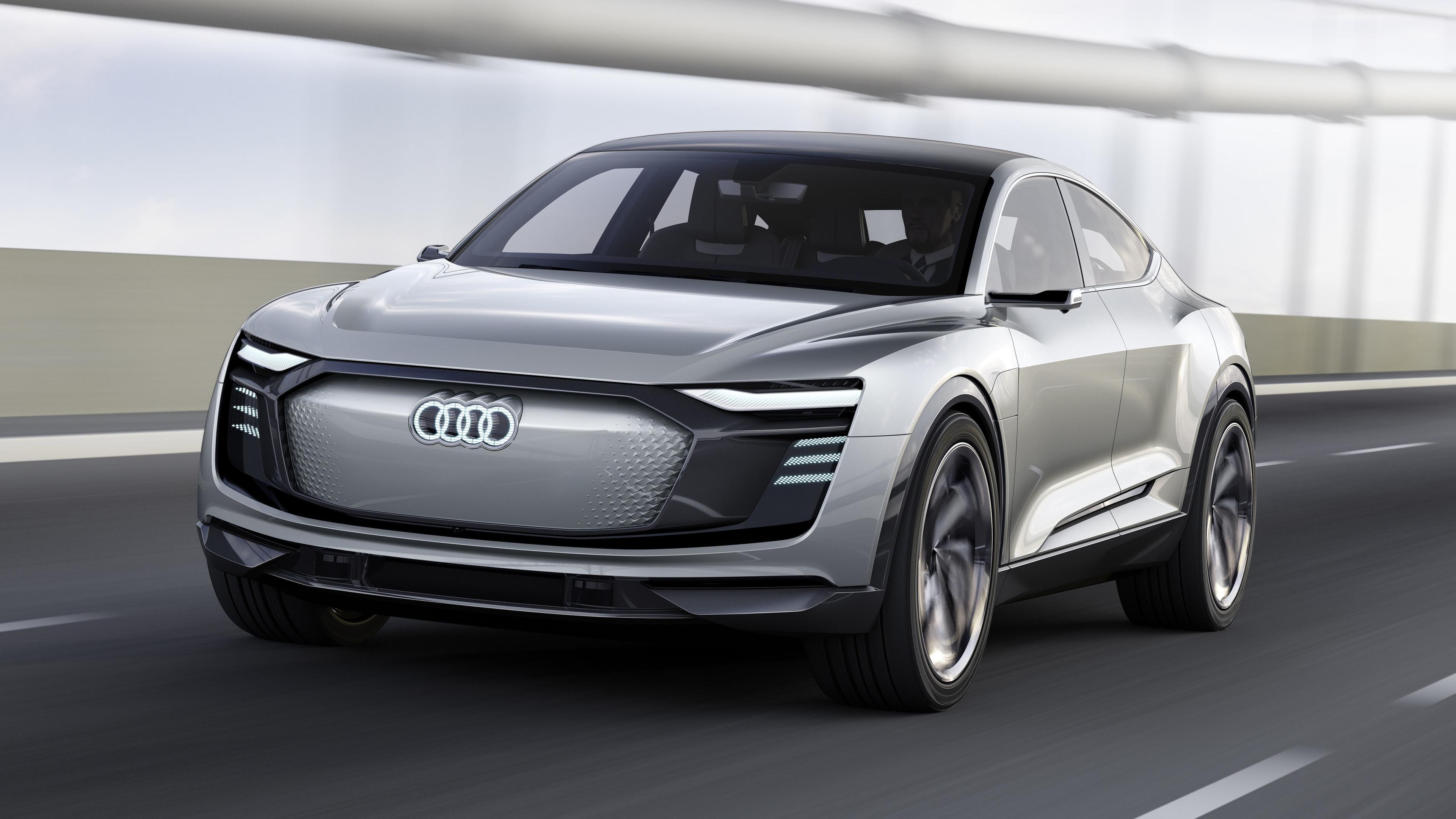 2017 audi e tron sportback concept 4k 1539105243 - 2017 Audi E Tron Sportback Concept 4k - hd-wallpapers, concept cars wallpapers, audi wallpapers, audi e tron wallpapers, 4k-wallpapers, 2017 cars wallpapers