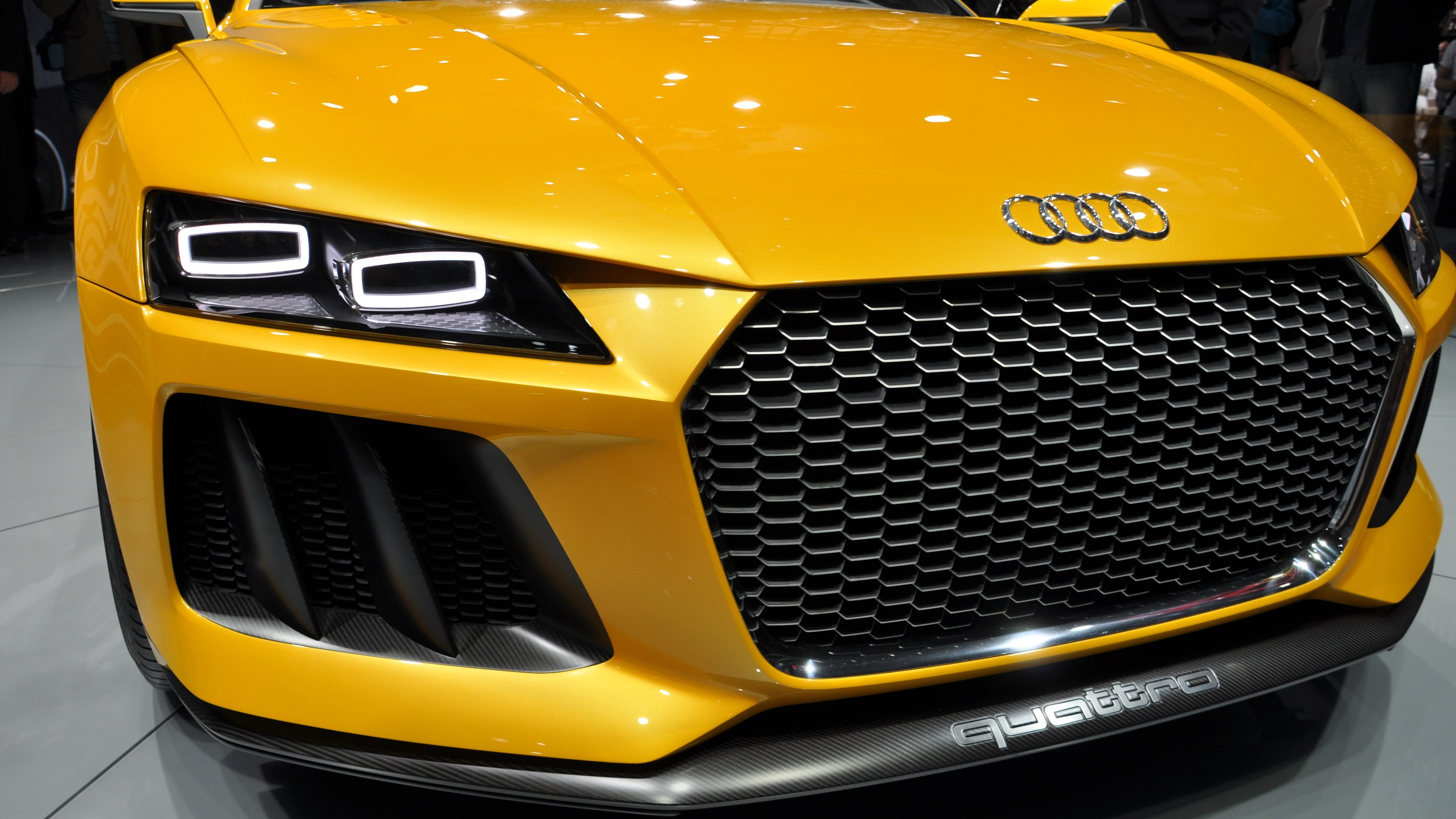 2017 audi matrix led 1539104510 - 2017 Audi Matrix LED - yellow wallpapers, lights wallpapers, cars wallpapers, audi wallpapers