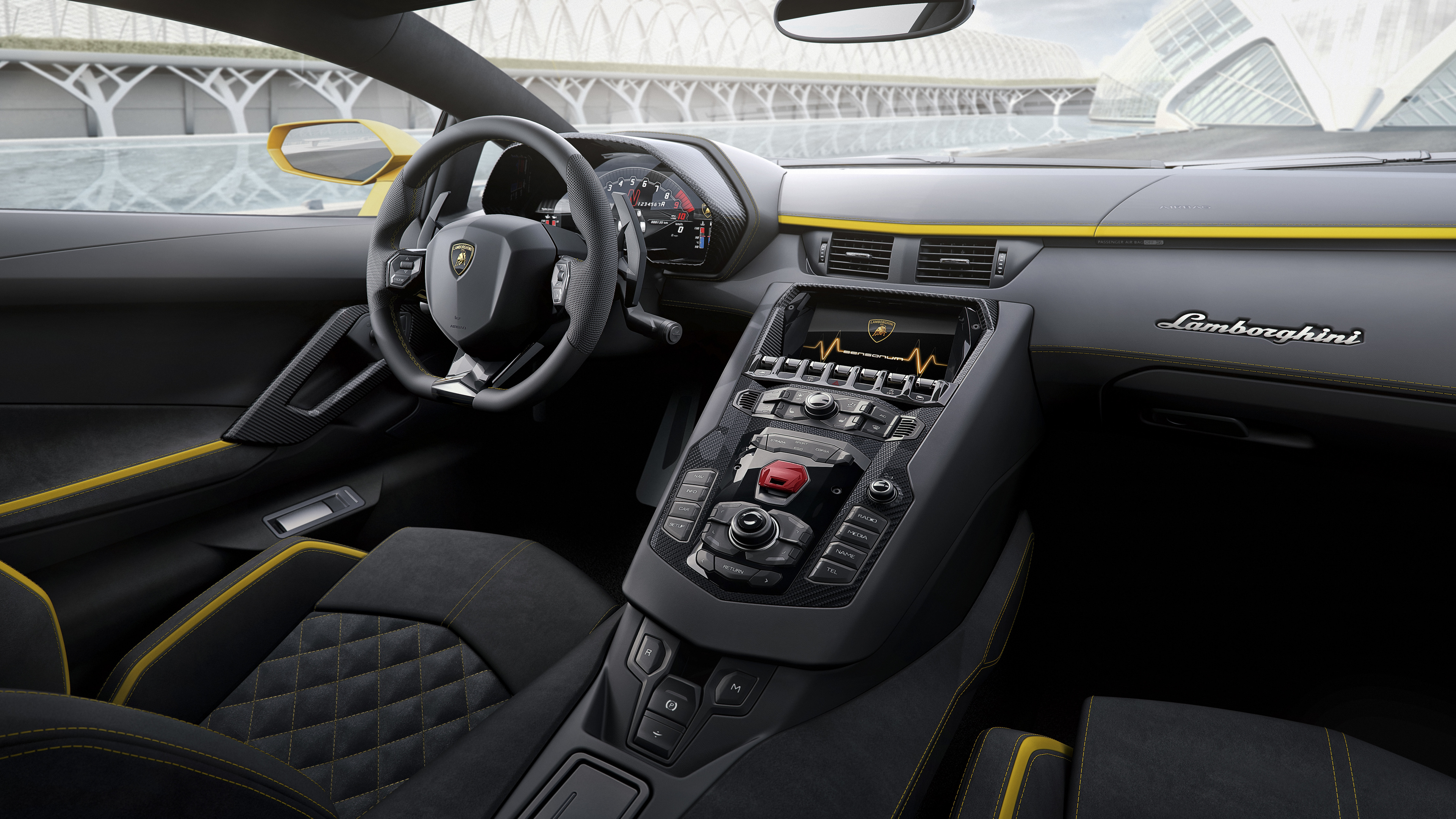 2017 lamborghini aventador s interior 8k 1539104869 - 2017 Lamborghini Aventador S Interior 8k - lamborghini wallpapers, lamborghini aventador wallpapers, lamborghini aventador s wallpapers, cars wallpapers, 8k wallpapers, 2017 cars wallpapers
