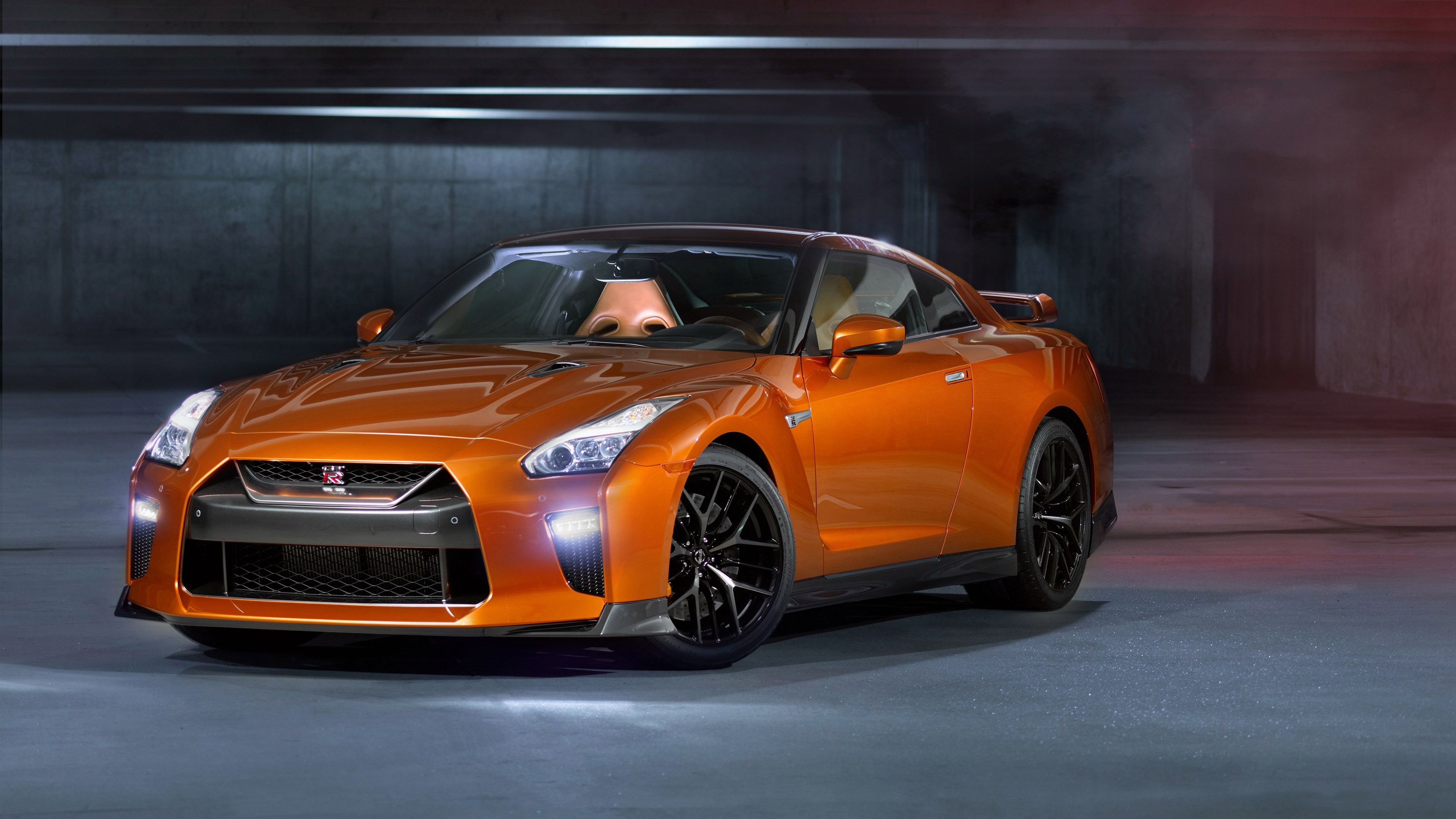 Wallpaper 4k 2017 Nissan Gtr Orange 2017 Cars Wallpapers Cars