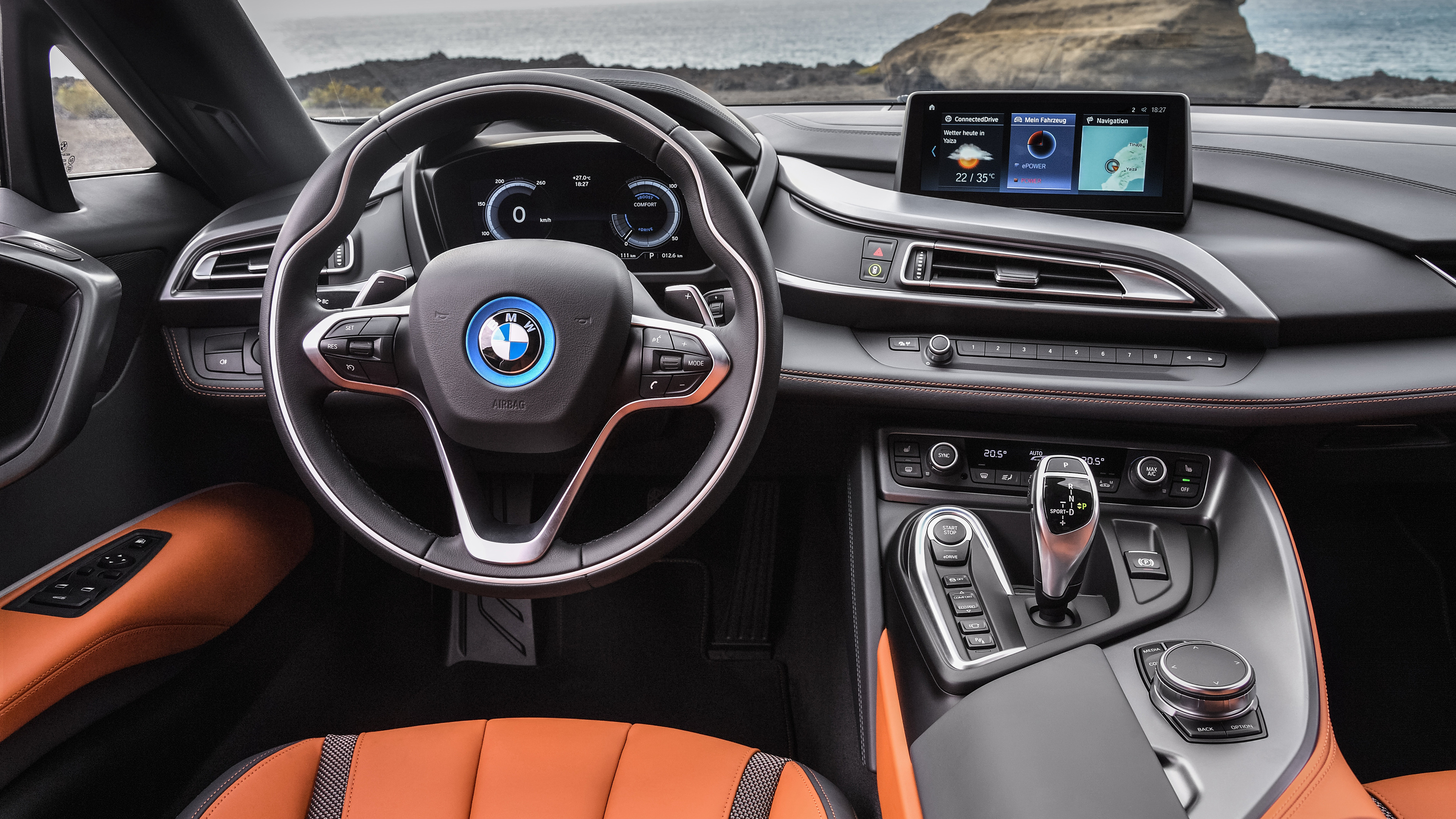 2018 bmw i8 roadster interior 1539108178 - 2018 BMW I8 Roadster Interior - interior wallpapers, hd-wallpapers, cars wallpapers, bmw wallpapers, bmw i8 wallpapers, 4k-wallpapers, 2018 cars wallpapers
