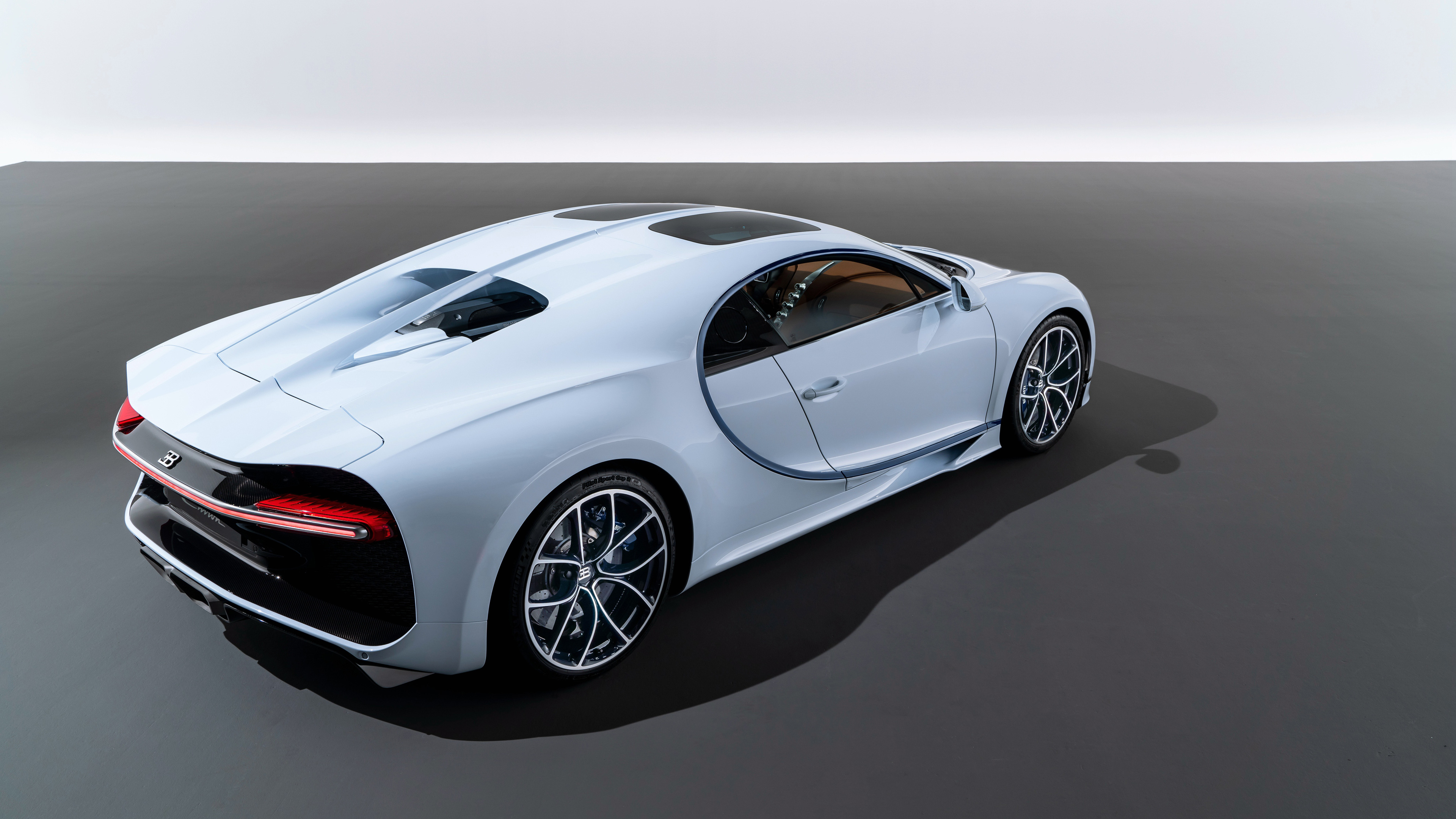Wallpaper 4k 2018 Bugatti Chiron Sky View Rear 4k 2018 Cars
