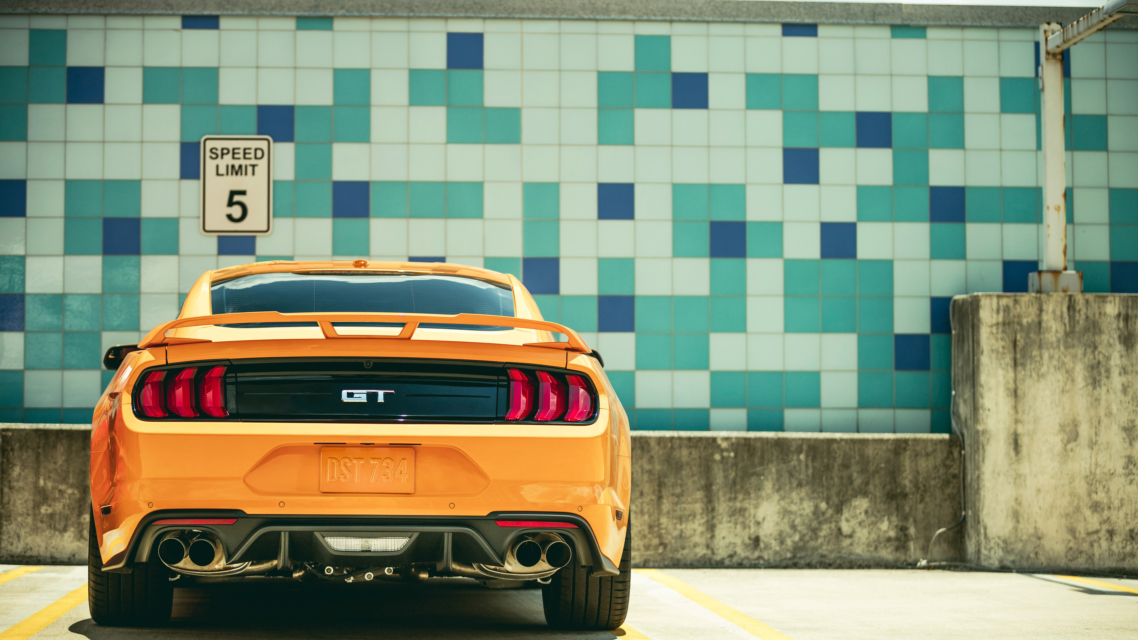 2018 ford mustang gt fastback rear 1539107972 - 2018 Ford Mustang GT Fastback Rear - hd-wallpapers, ford mustang wallpapers, cars wallpapers, 4k-wallpapers, 2018 cars wallpapers