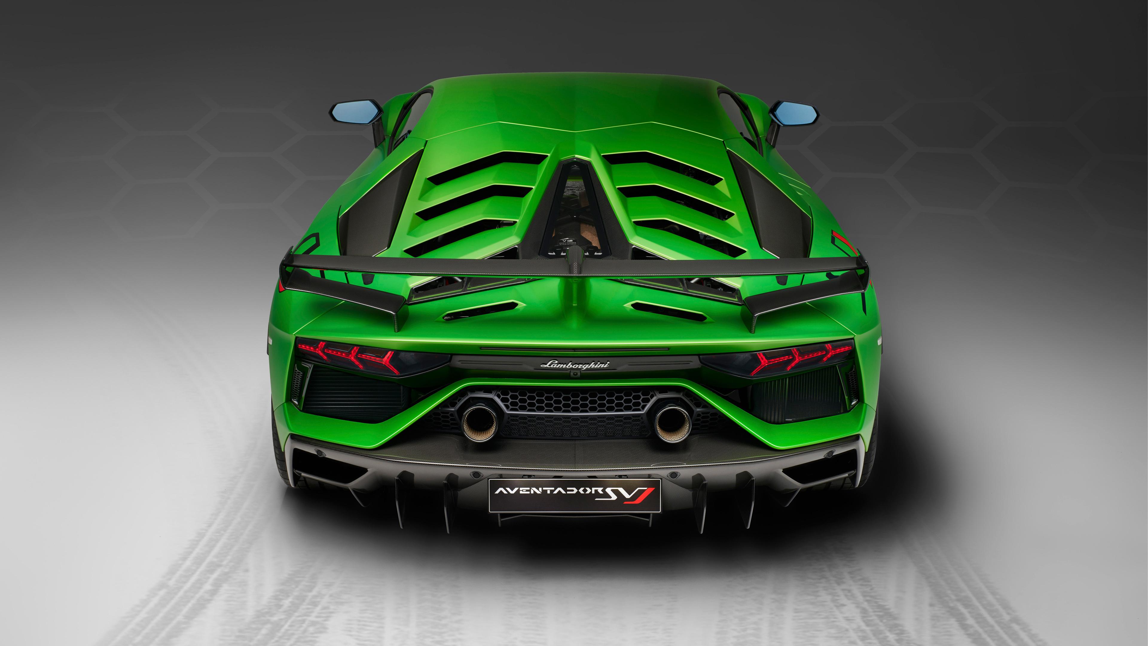 2018 lamborghini aventador svj rear 1539114024 - 2018 Lamborghini Aventador SVJ Rear - lamborghini wallpapers, lamborghini aventador wallpapers, lamborghini aventador svj wallpapers, hd-wallpapers, cars wallpapers, 4k-wallpapers, 2018 cars wallpapers