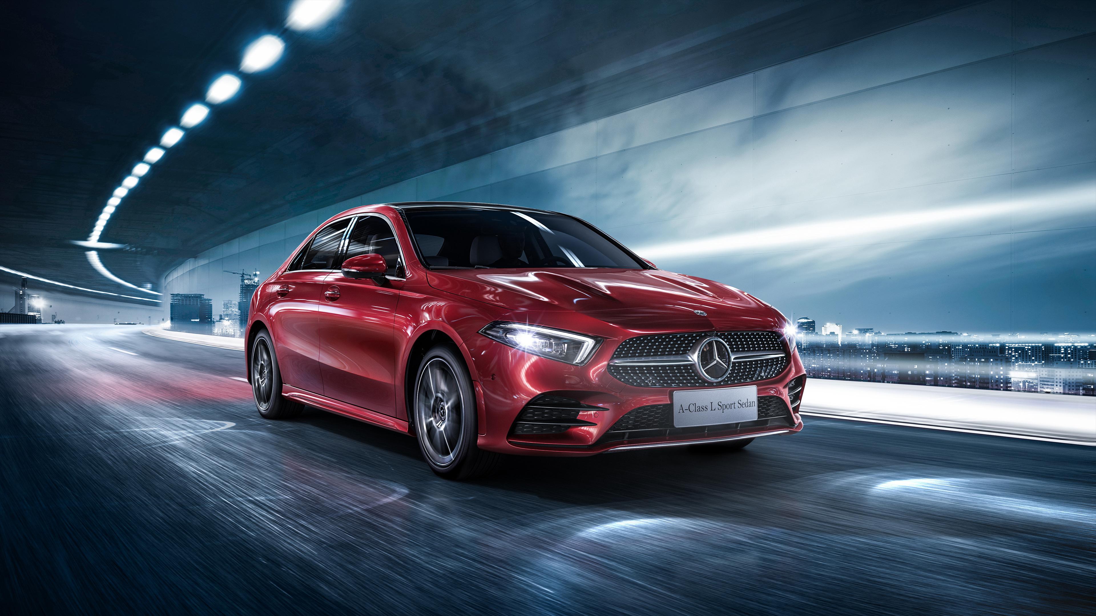 2018 mercedes benz a 200 l sport sedan 1539110996 - 2018 Mercedes Benz A 200 L Sport Sedan - mercedes wallpapers, mercedes benz wallpapers, hd-wallpapers, cars wallpapers, 2018 cars wallpapers