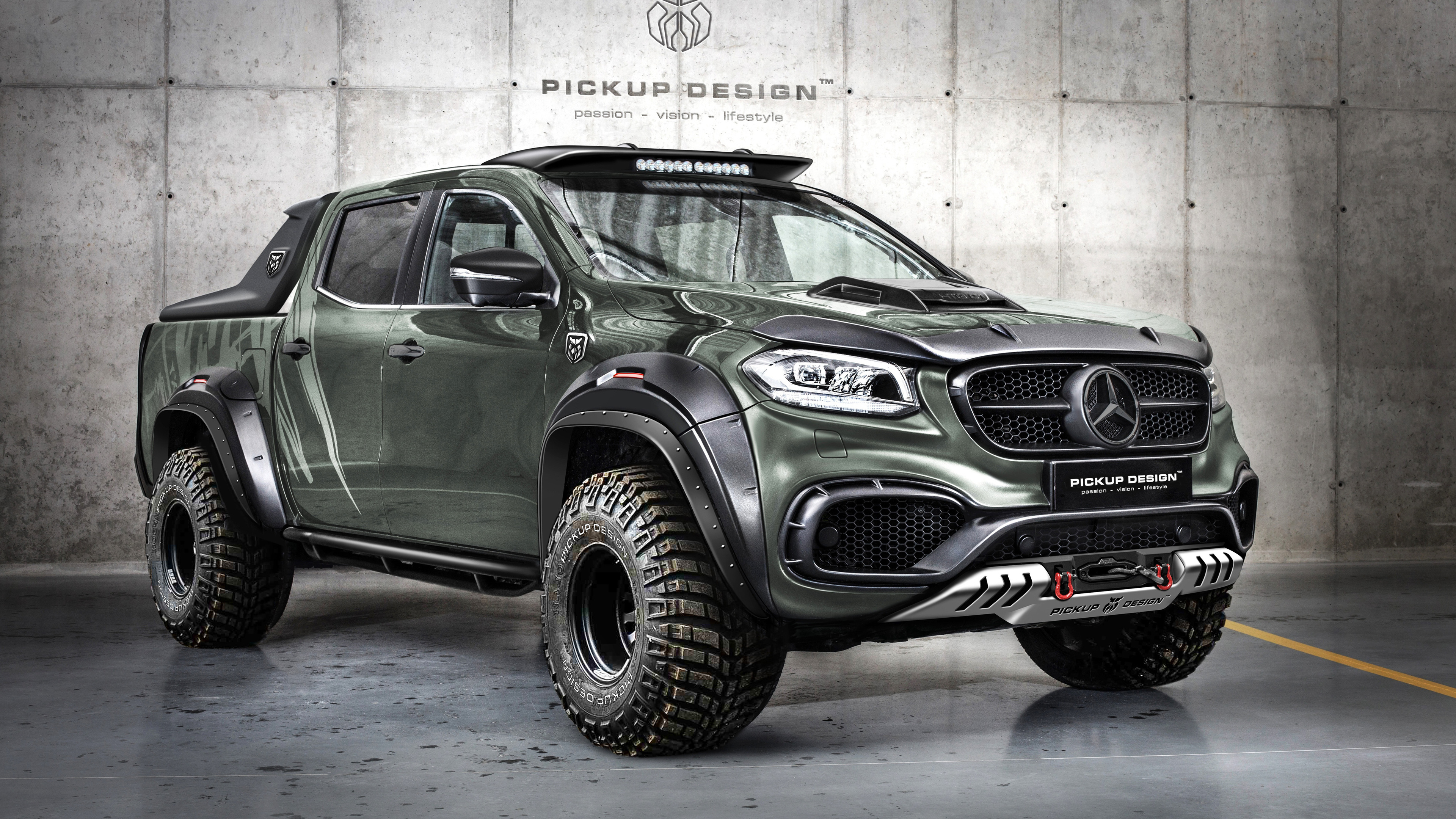 2018 Mercedes Benz X Carlex Design