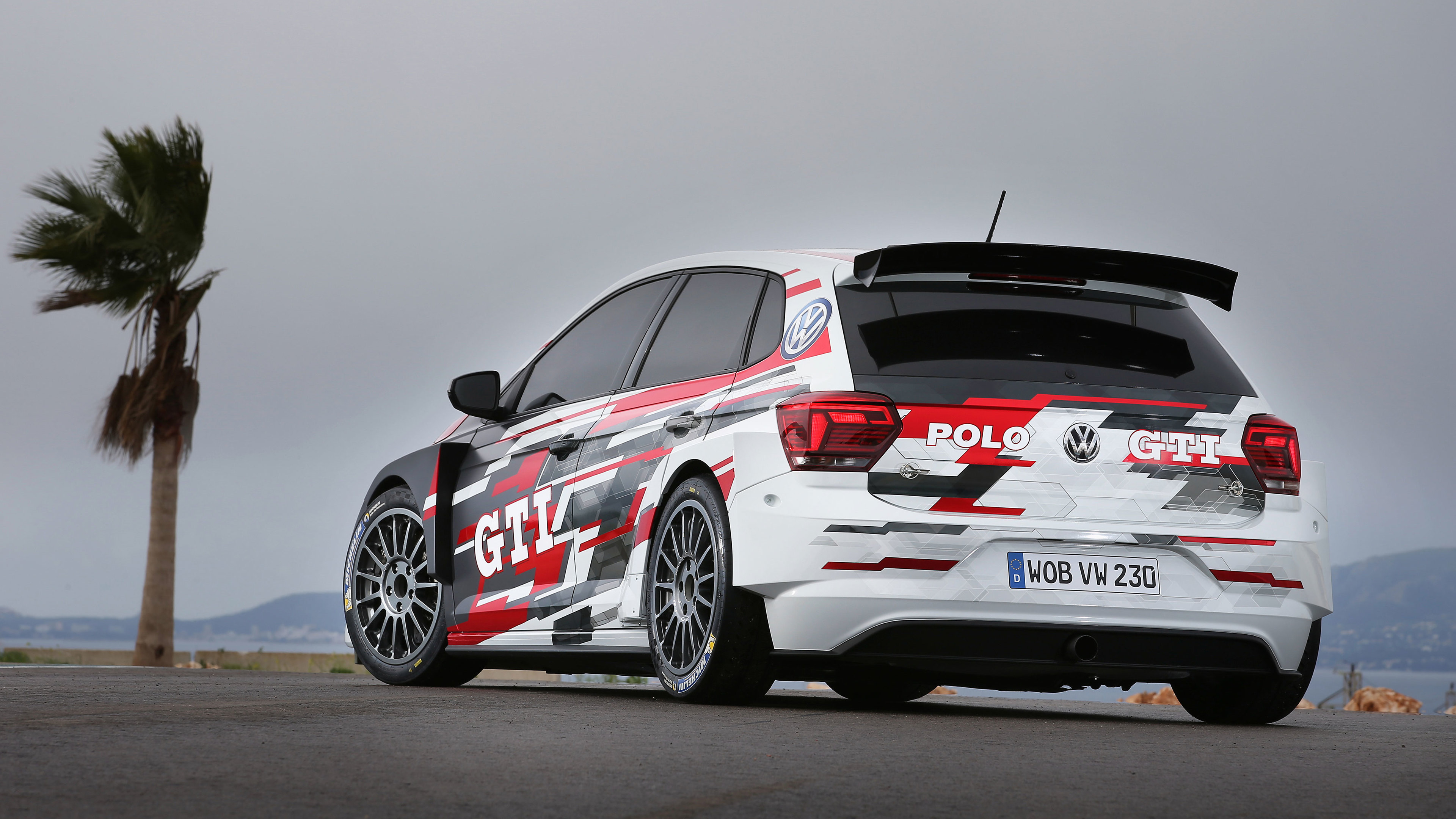2018 volkswagen polo gti r5 4k 1539110779 - 2018 Volkswagen Polo GTI R5 4k - volkswagen wallpapers, volkswagen polo gti wallpapers, hd-wallpapers, cars wallpapers, 4k-wallpapers, 2018 cars wallpapers