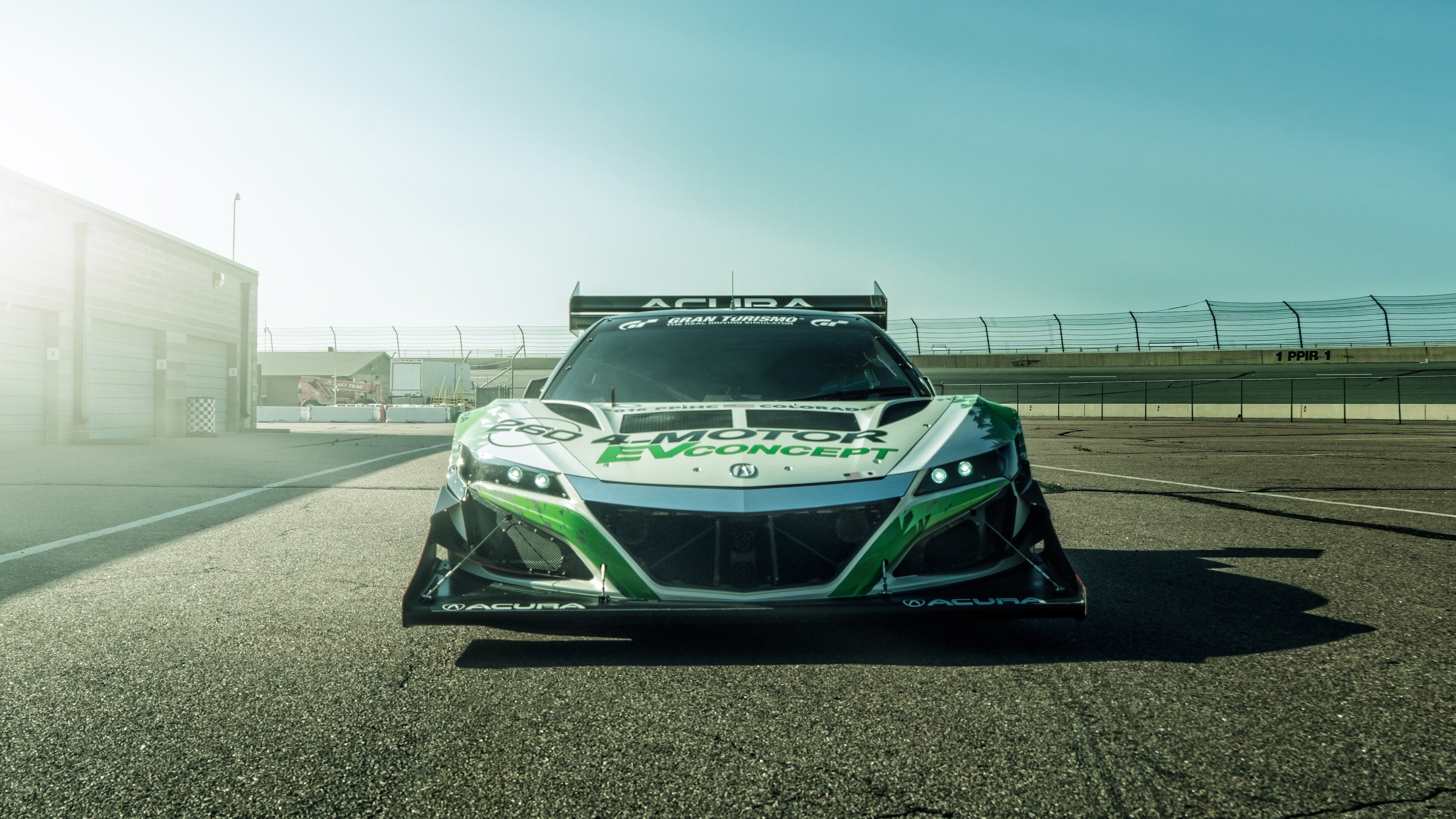Wallpaper 4k 2019 Acura Nsx Pikes Peak Front 2019 Cars Wallpapers