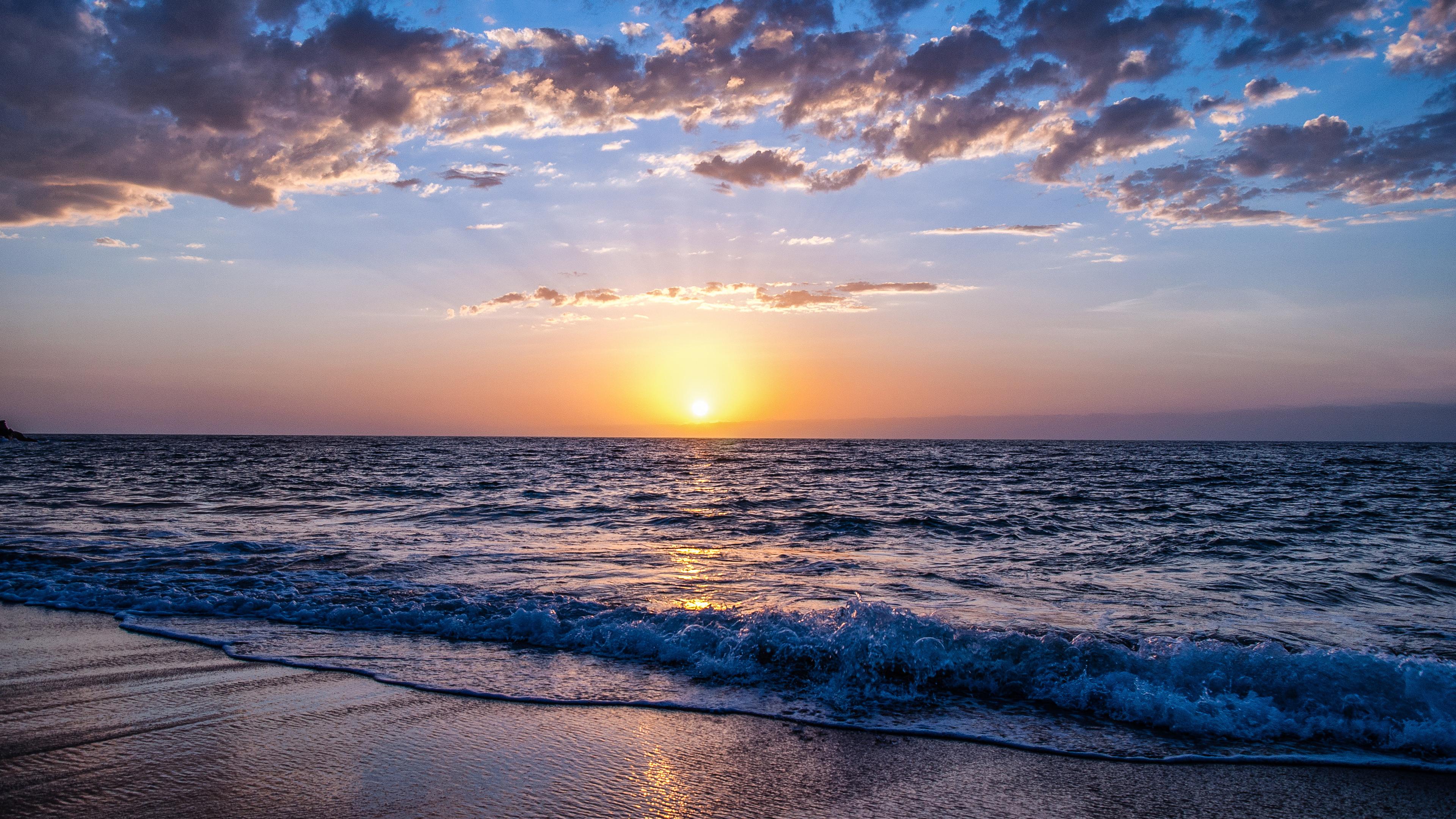 4k seashore 1540136328 - 4k Seashore - sunset wallpapers, seashore wallpapers, nature wallpapers, hd-wallpapers, 4k-wallpapers