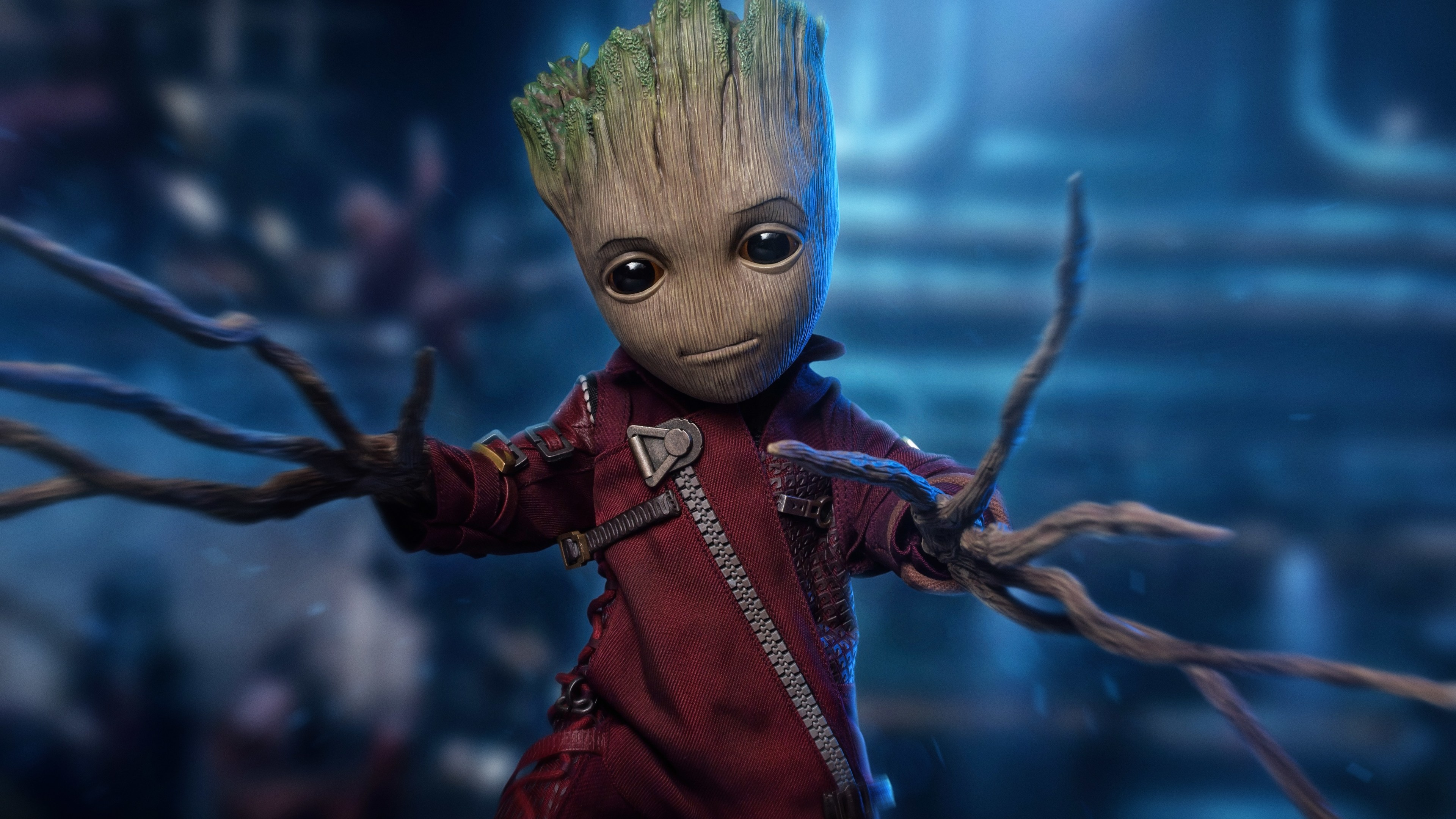 5k Baby Groot Superheroes Wallpapers, Hd-wallpapers, Groot