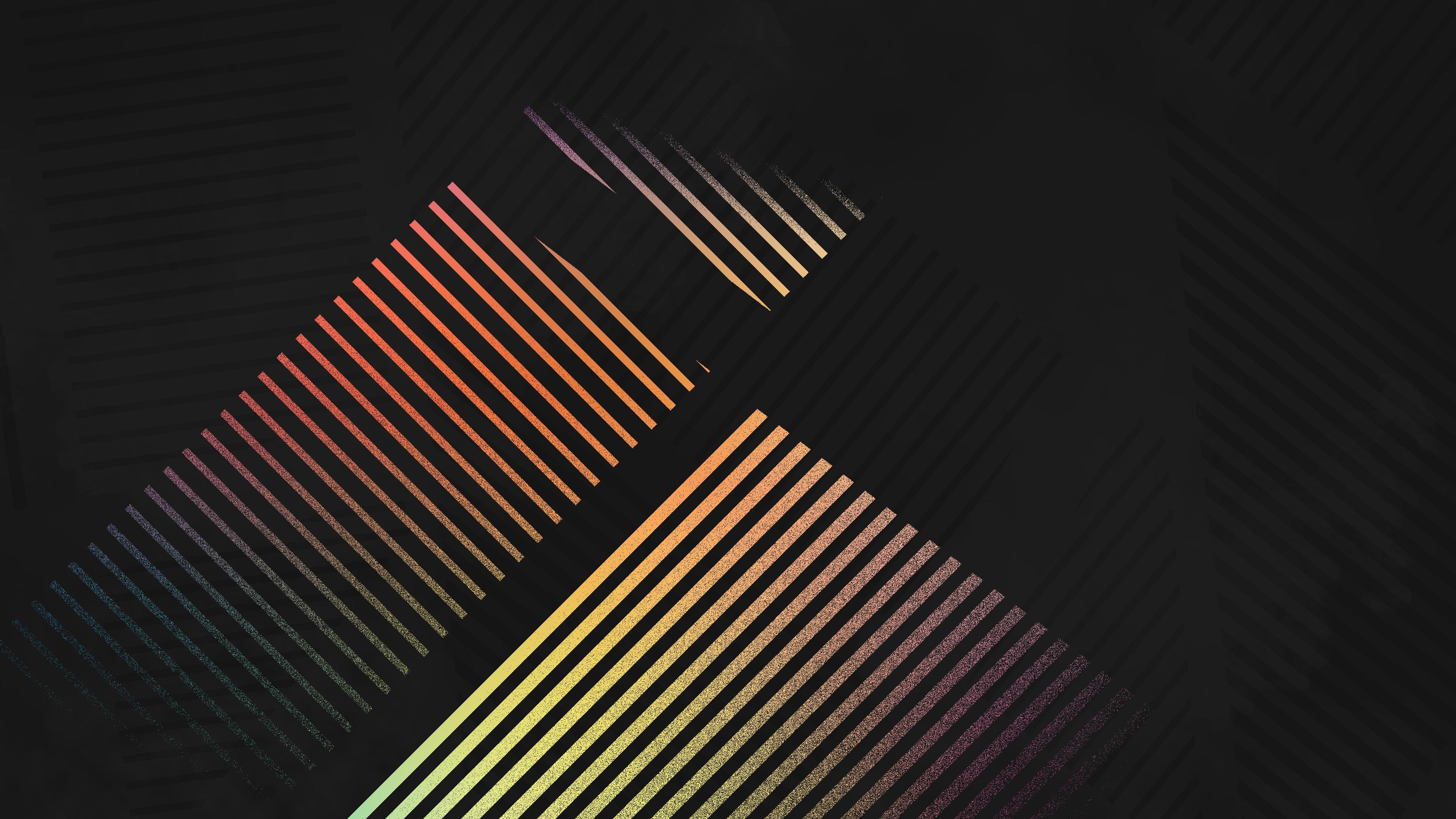 Wallpaper 4k Abstract Lines Shapes 4k 4k Wallpapers