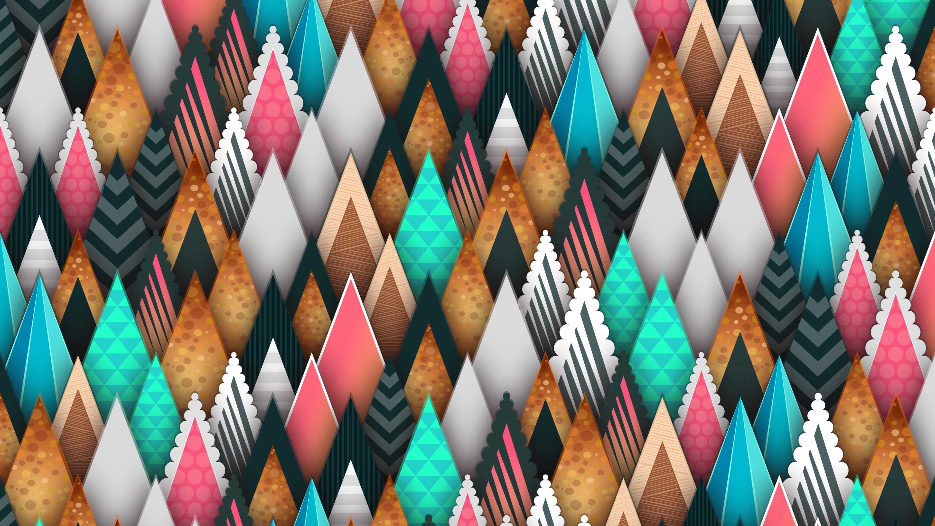 abstract sharp shapes 5k 1539371260 - Abstract Sharp Shapes 5k - shapes wallpapers, hd-wallpapers, colorful wallpapers, abstract wallpapers, 5k wallpapers, 4k-wallpapers