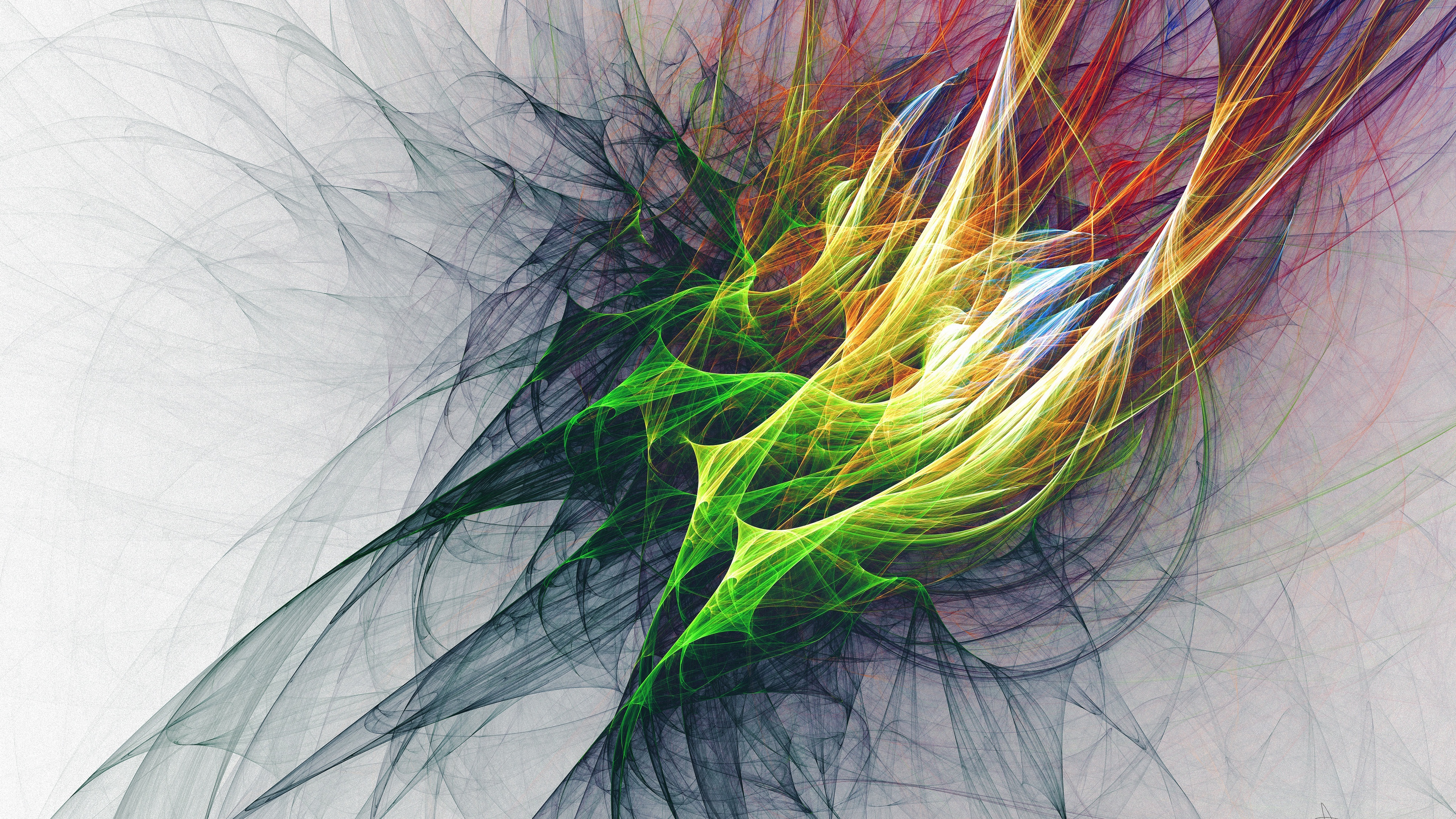 abstraction bunches colorful 4k 1539370262 - abstraction, bunches, colorful 4k - Colorful, bunches, Abstraction