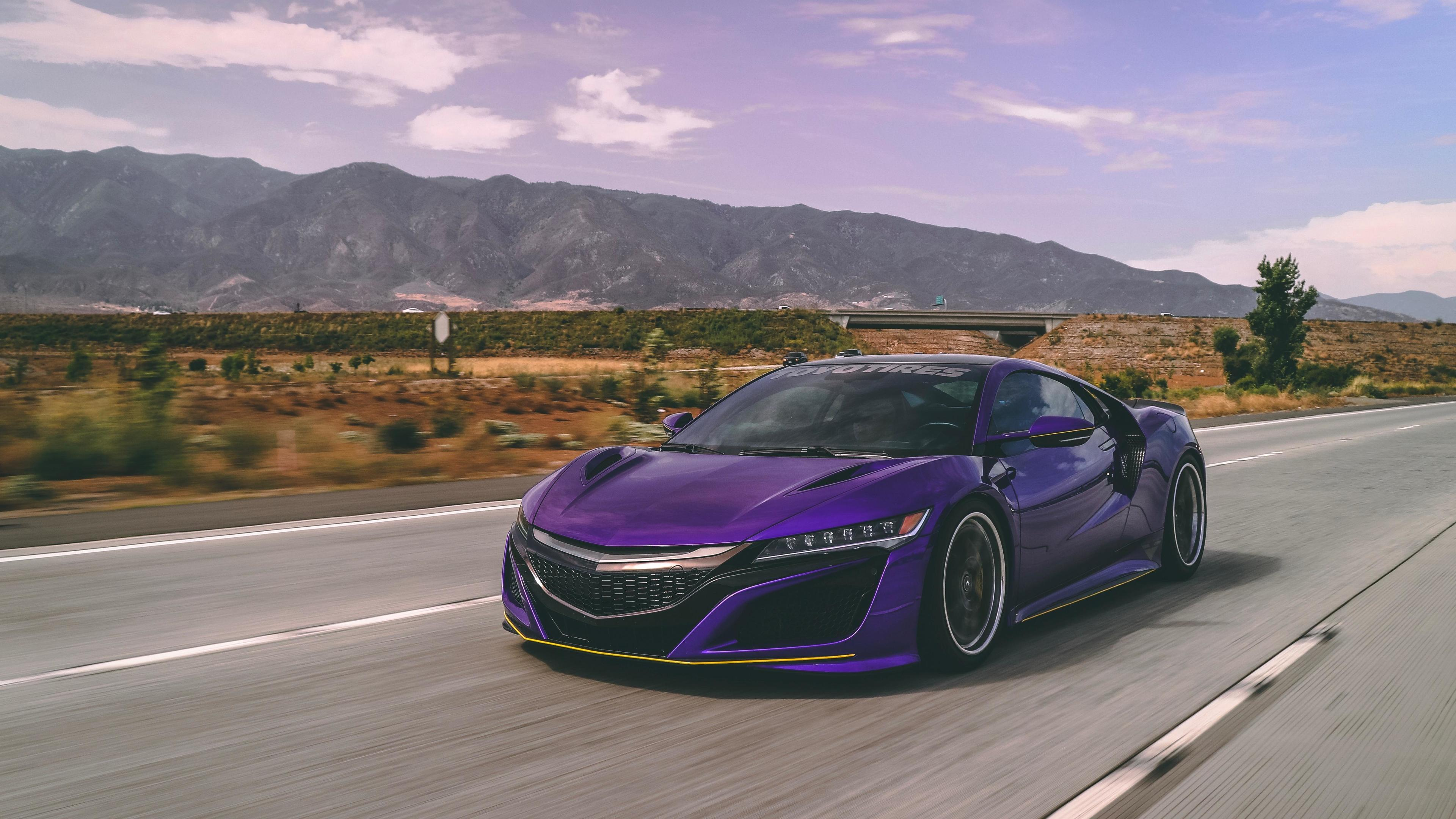 Wallpaper 4k Acura NSX Supercar 5k 2018 cars wallpapers, 4k
