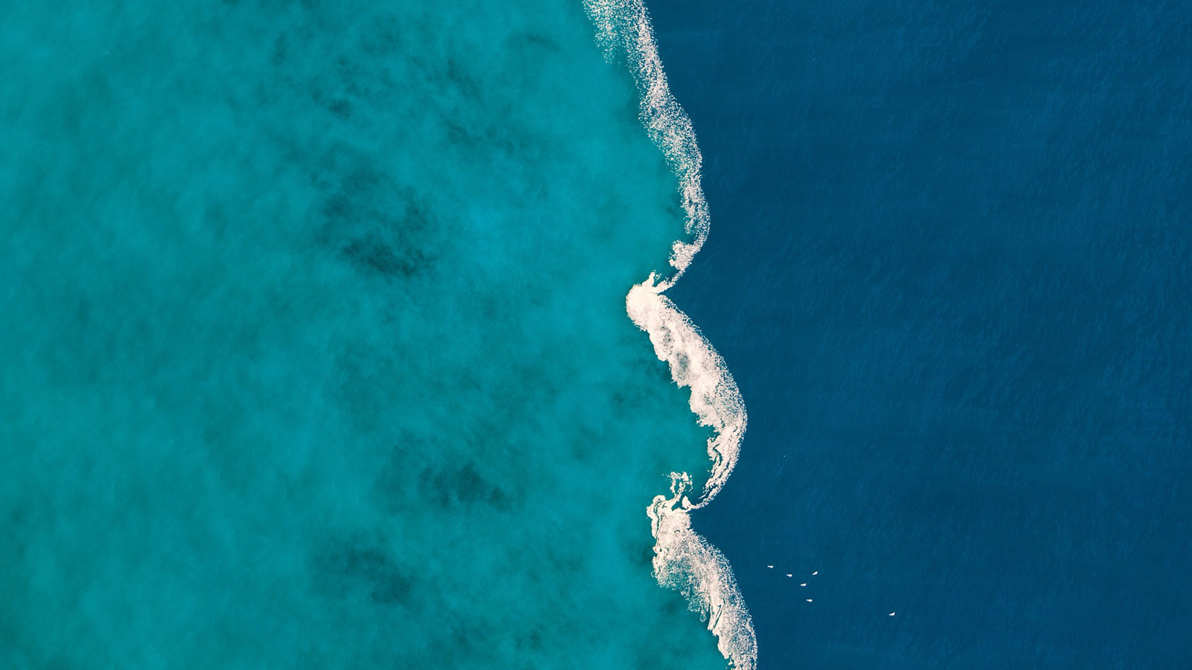 aerial blue ocean 4k 1540132754 - Aerial Blue Ocean 4k - ocean wallpapers, nature wallpapers, hd-wallpapers, 4k-wallpapers