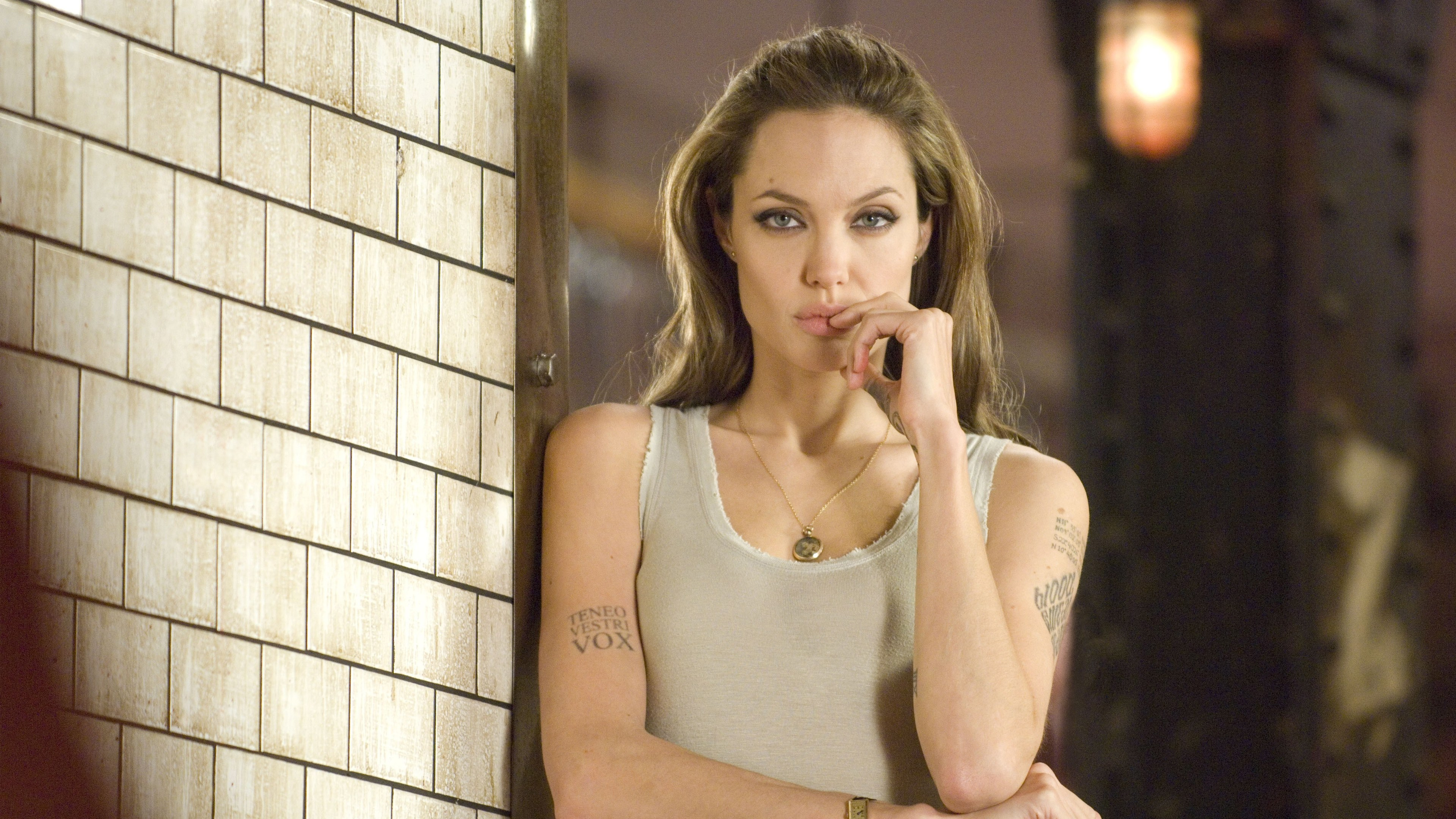 angelina jolie in wanted 4k 1539535525 - Angelina Jolie In Wanted 4k - hd-wallpapers, girls wallpapers, celebrities wallpapers, angelina jolie wallpapers, 4k-wallpapers