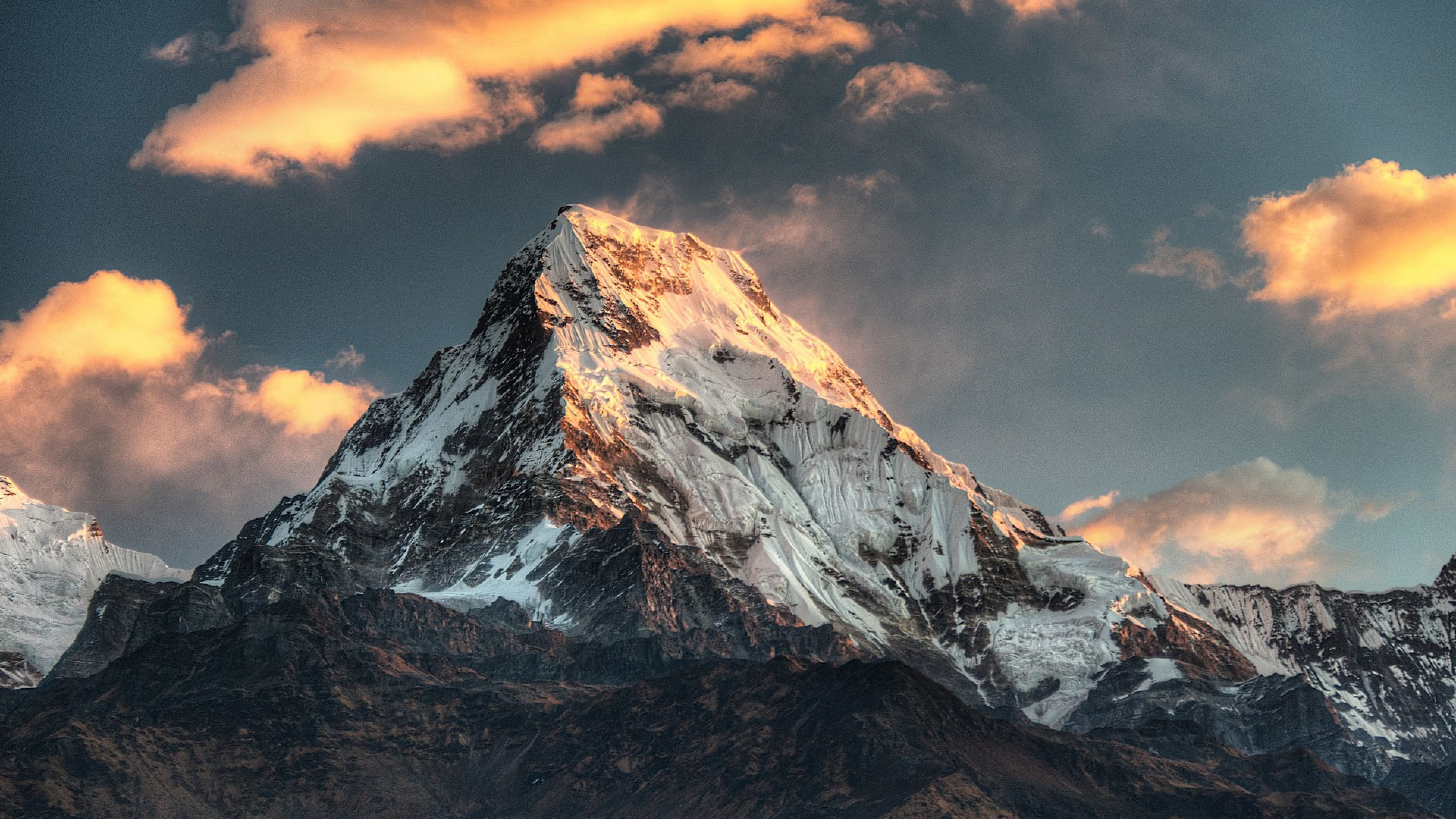 annapurna massif mountain range nepal 4k 1540142877 - Annapurna Massif Mountain Range Nepal 4k - world wallpapers, nepal wallpapers, nature wallpapers, mountains wallpapers, hd-wallpapers, 4k-wallpapers